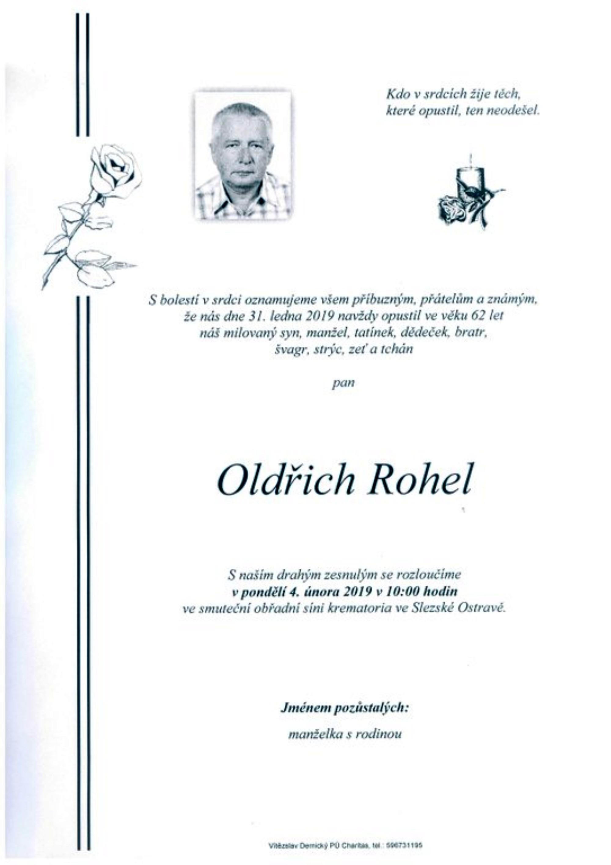 Oldřich Rohel
