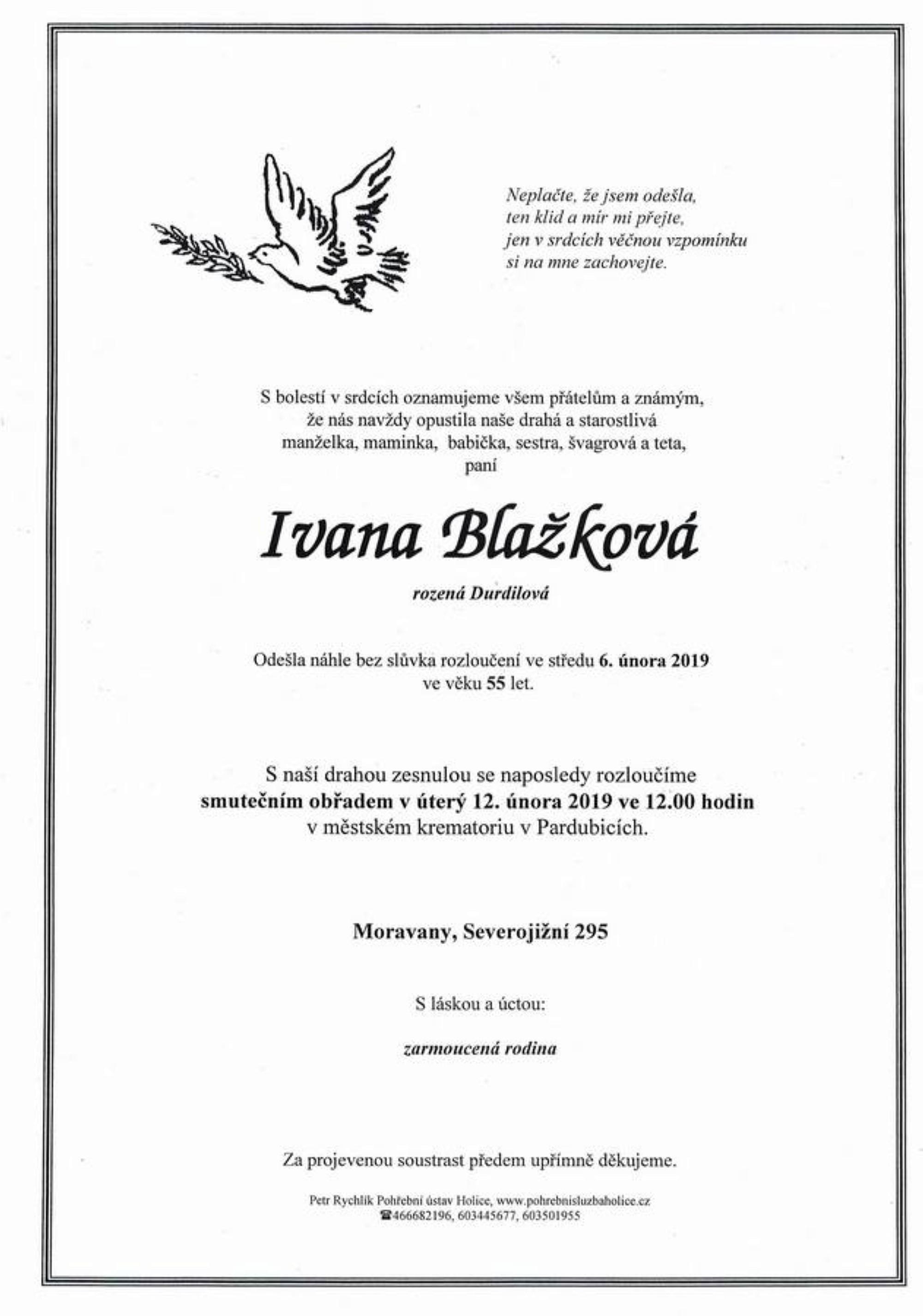 Ivana Blažková