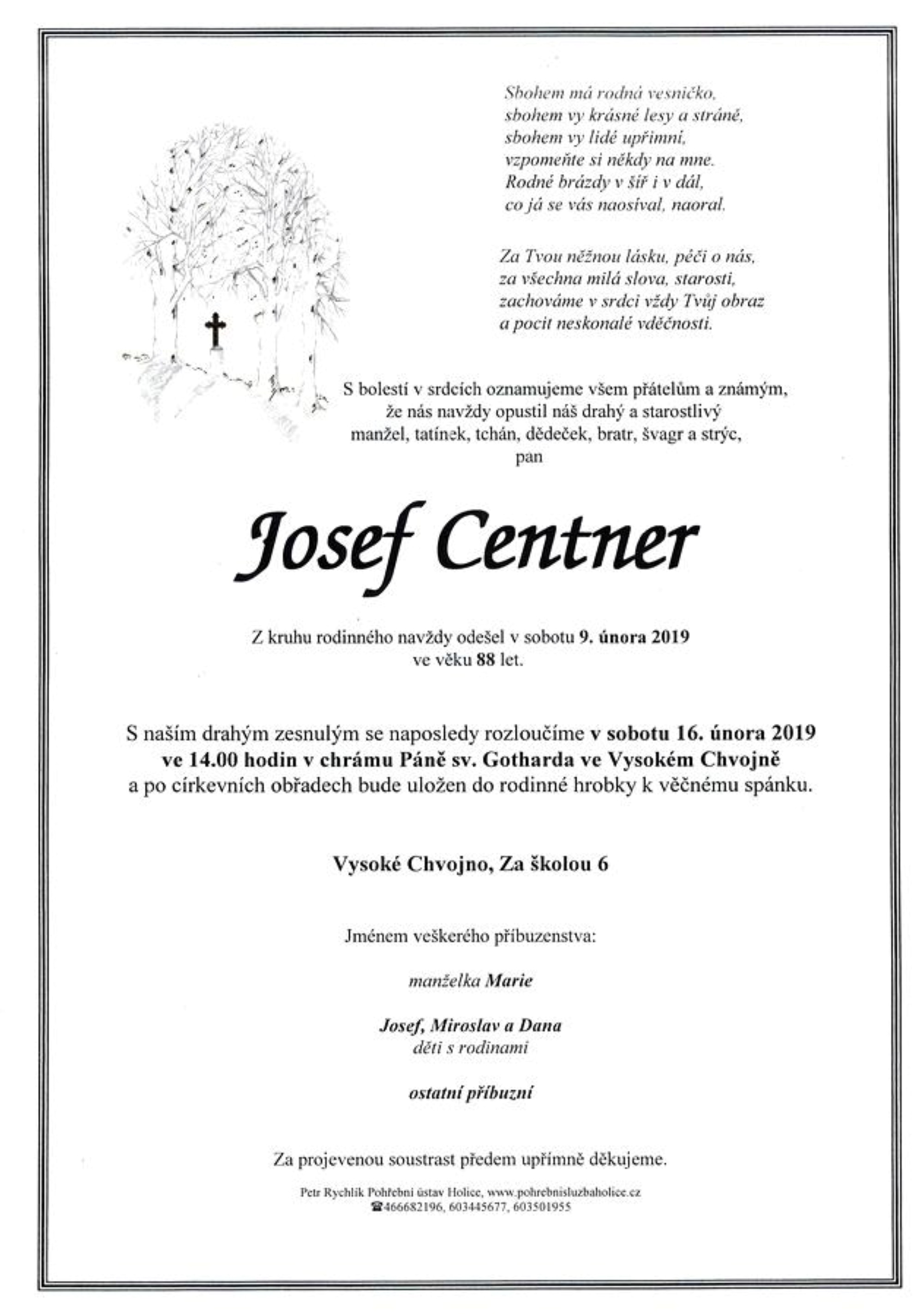 Josef Centner