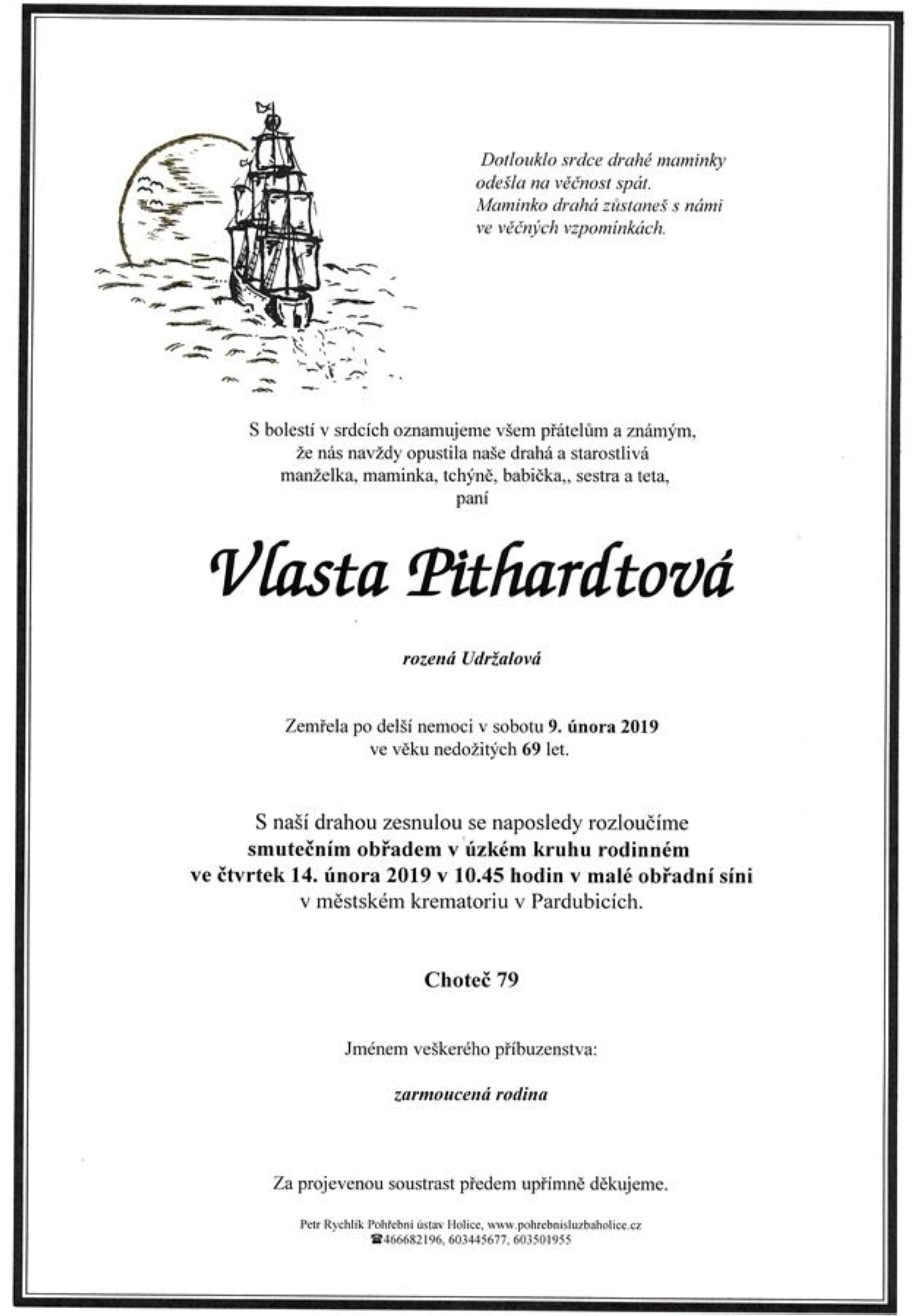 Vlasta Pithardtová