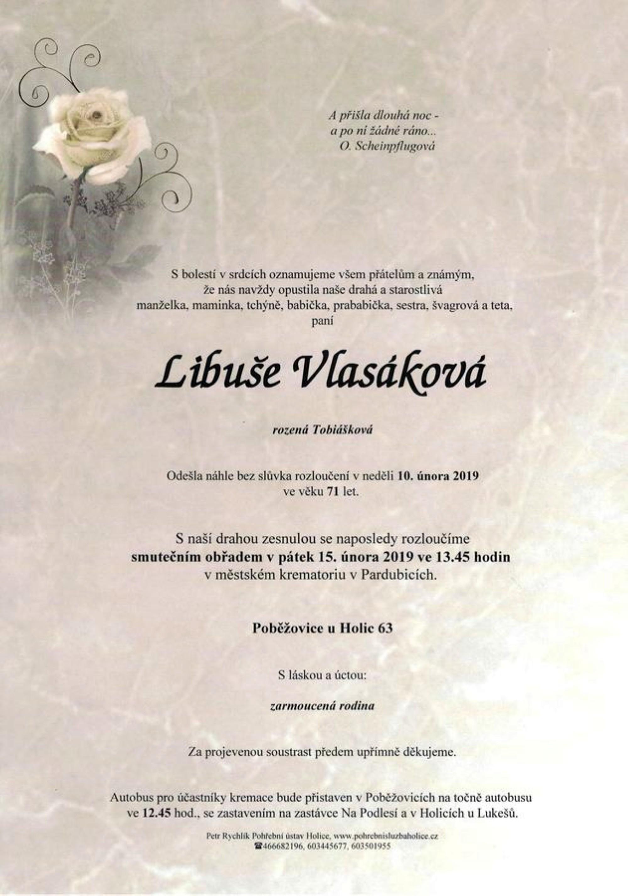 Libuše Vlasáková