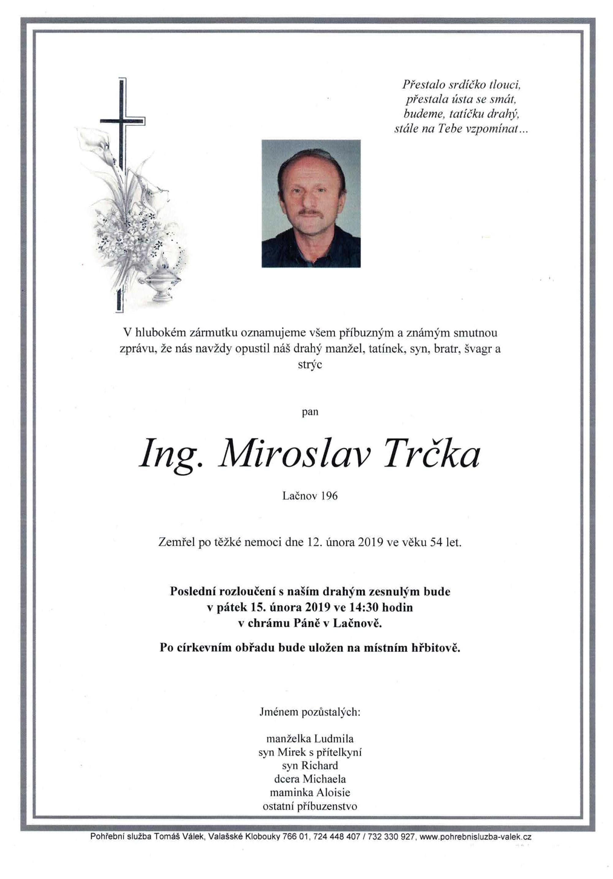 Ing. Miroslav Trčka