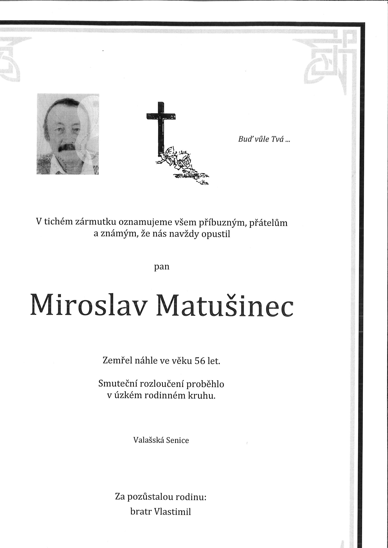 Miroslav Matušinec