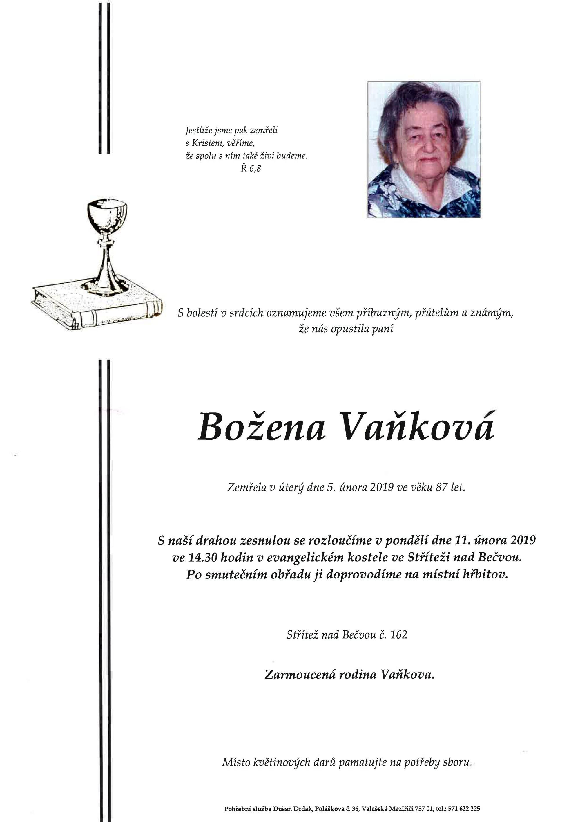 Božena Vaňková