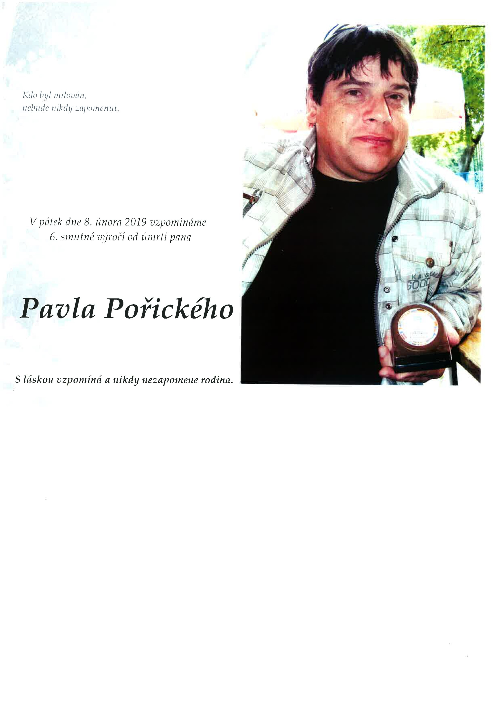 Pavel Pořický
