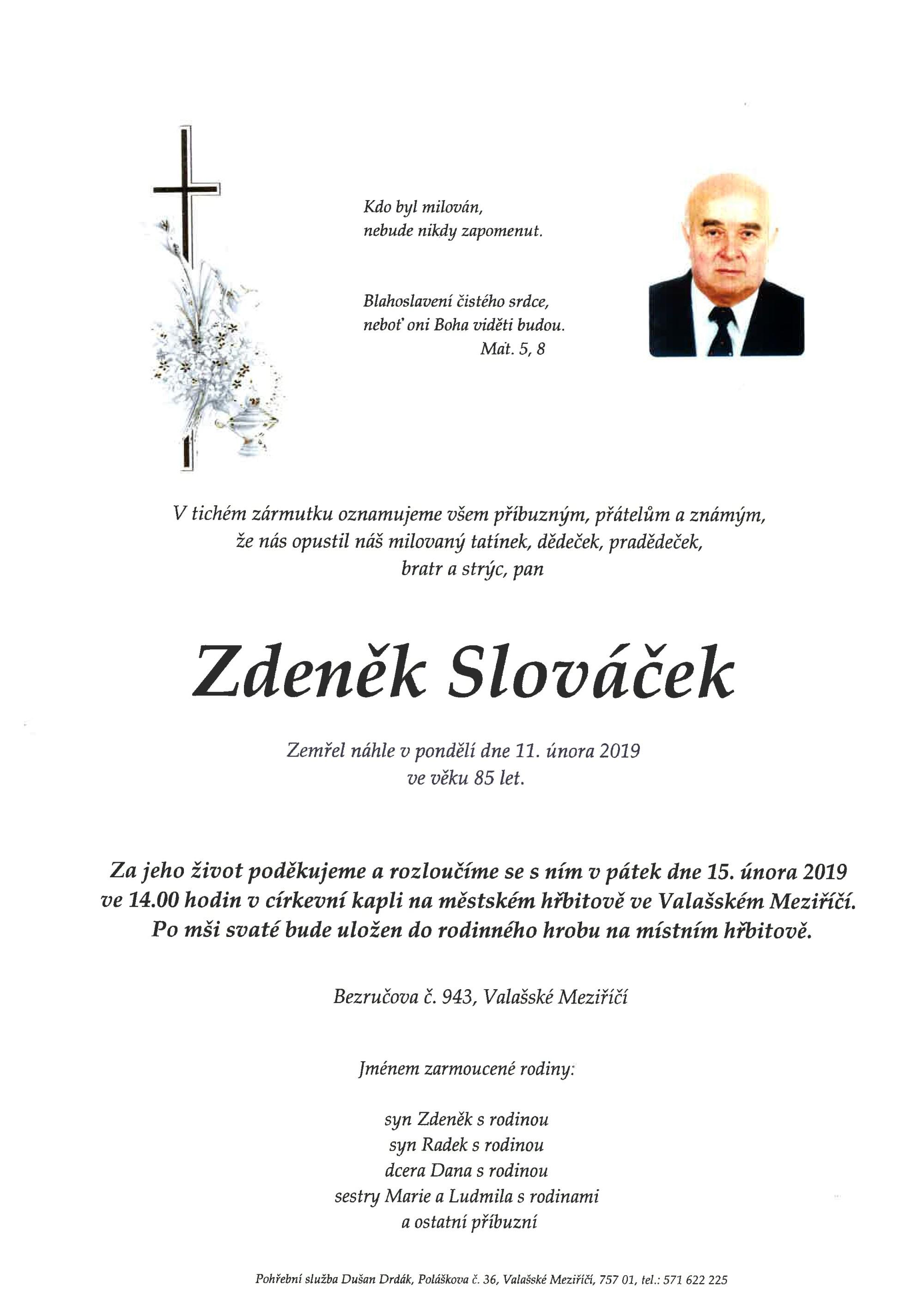 Zdeněk Slováček