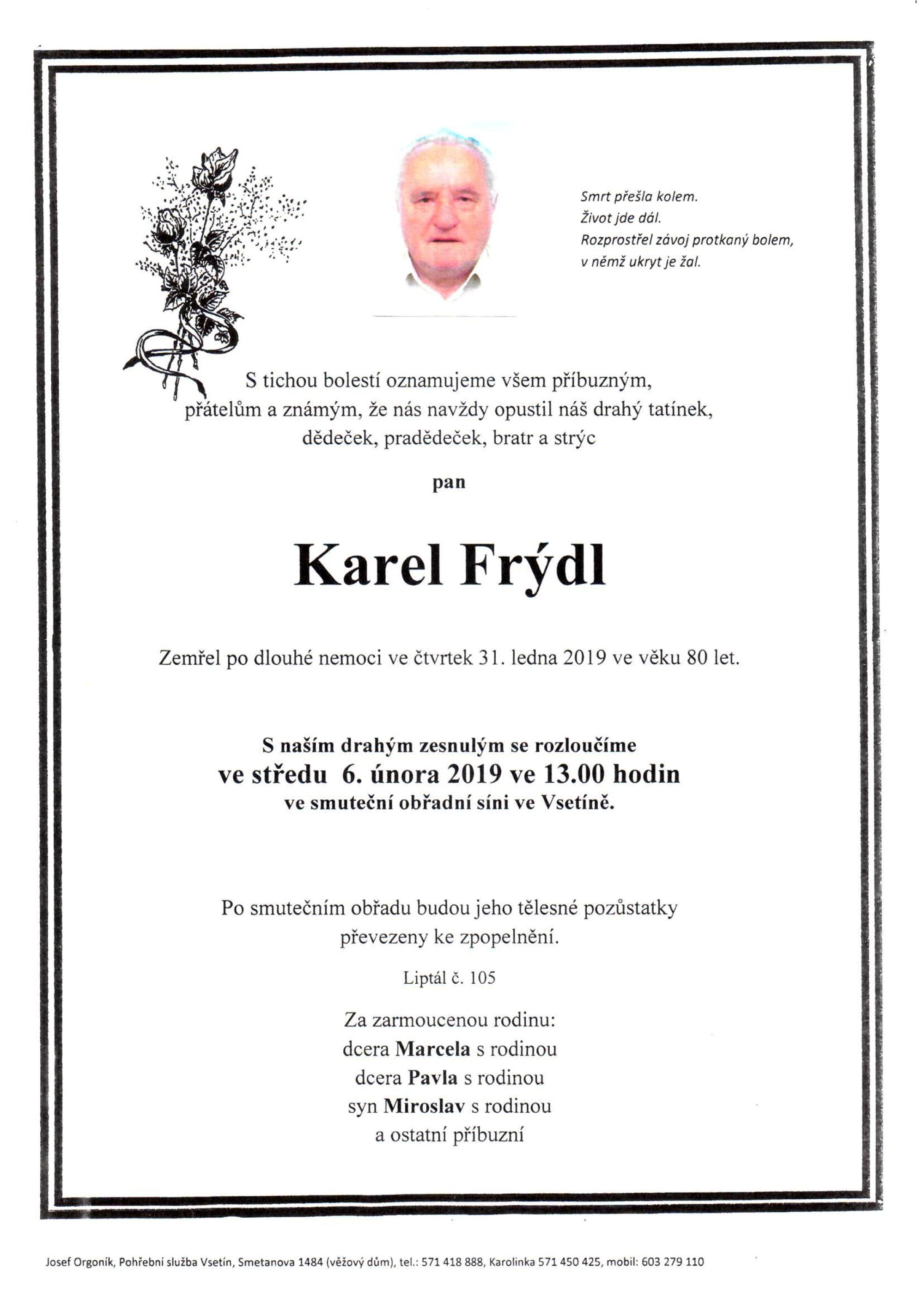 Karel Frýdl