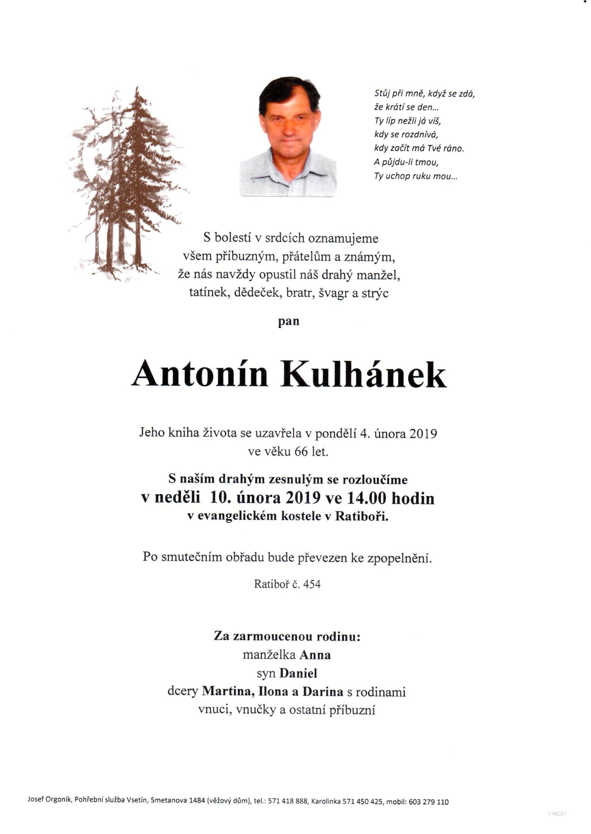 Antonín Kulhánek