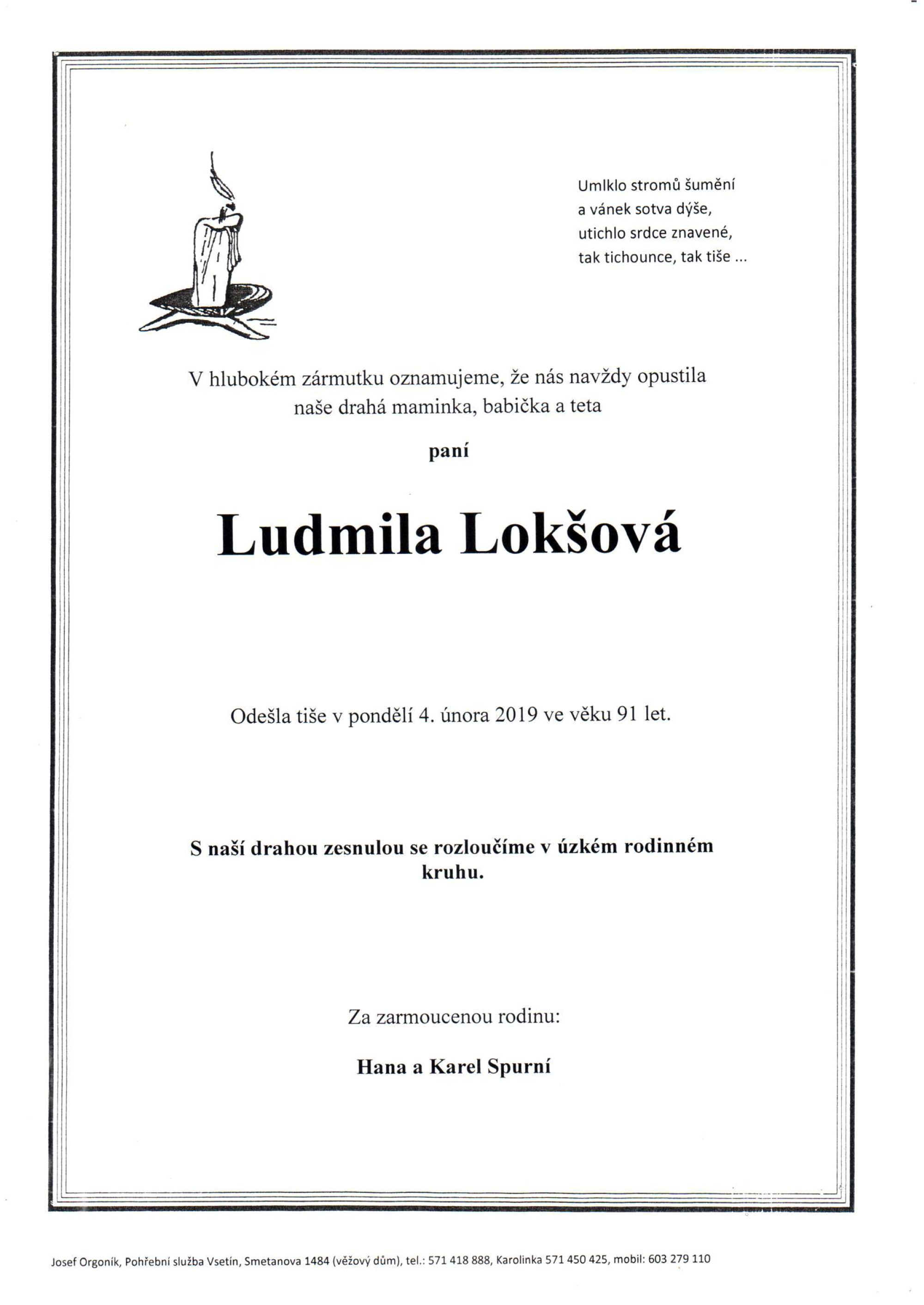 Ludmila Lokšová