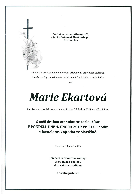 Marie Ekartová