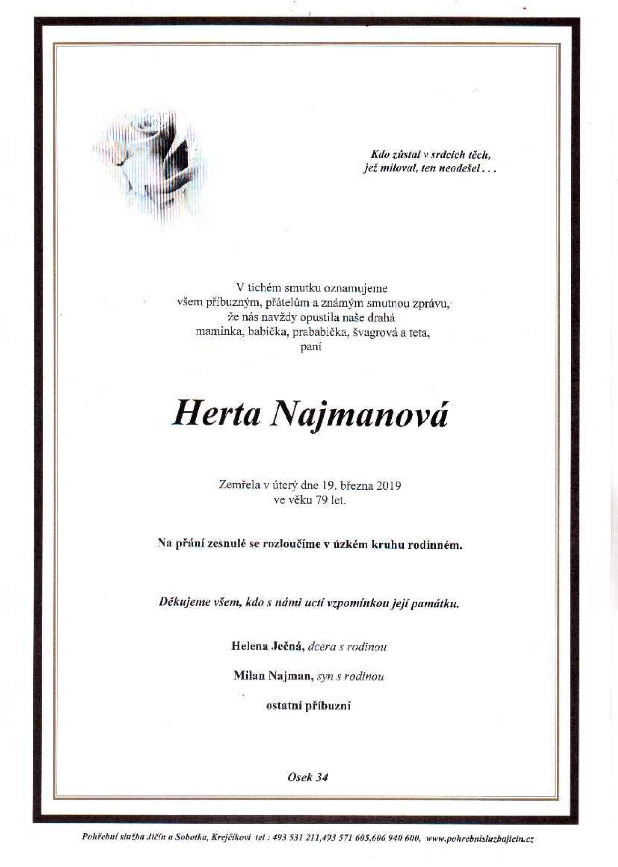 Herta Najmanová