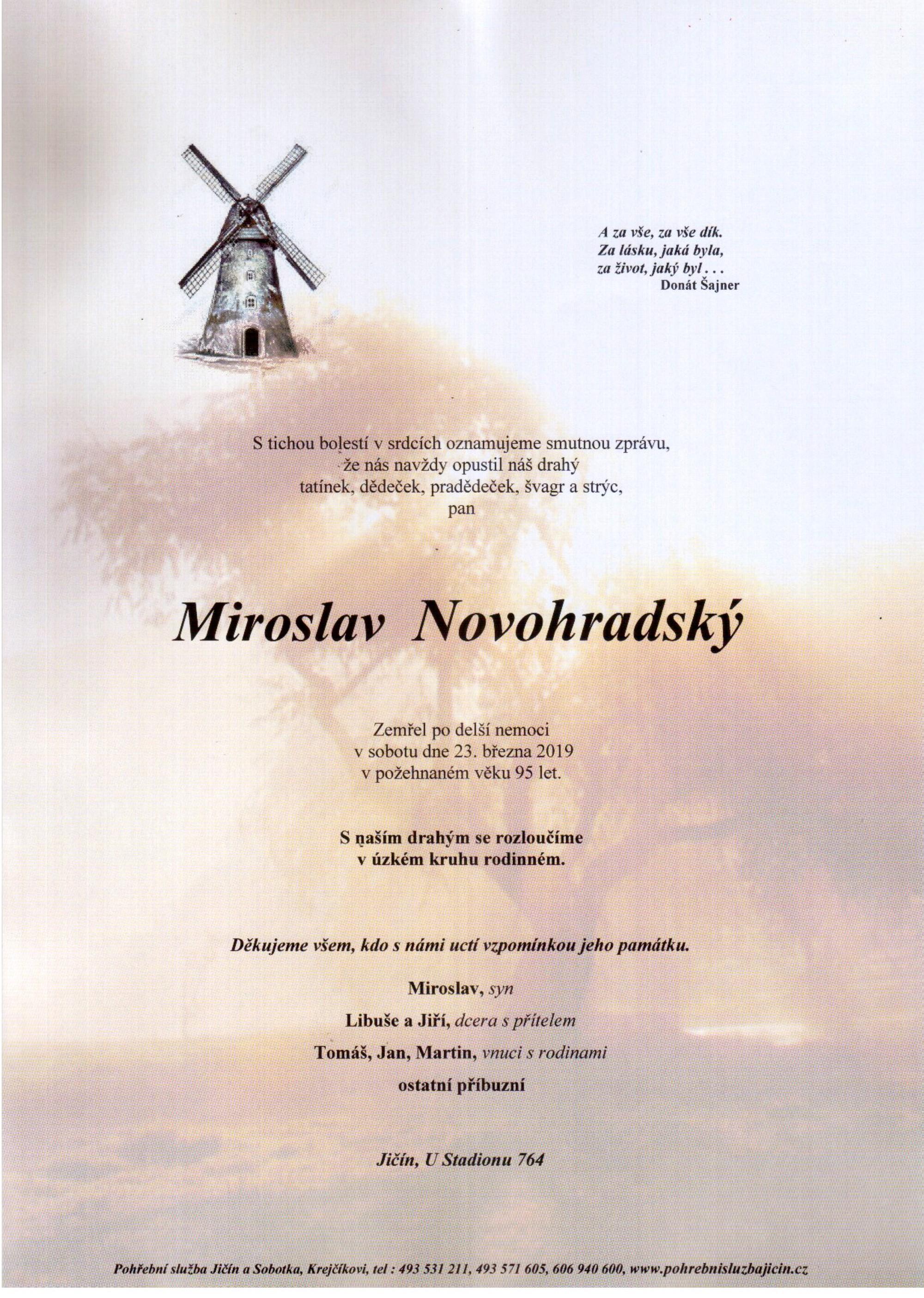 Miroslav Novohradský