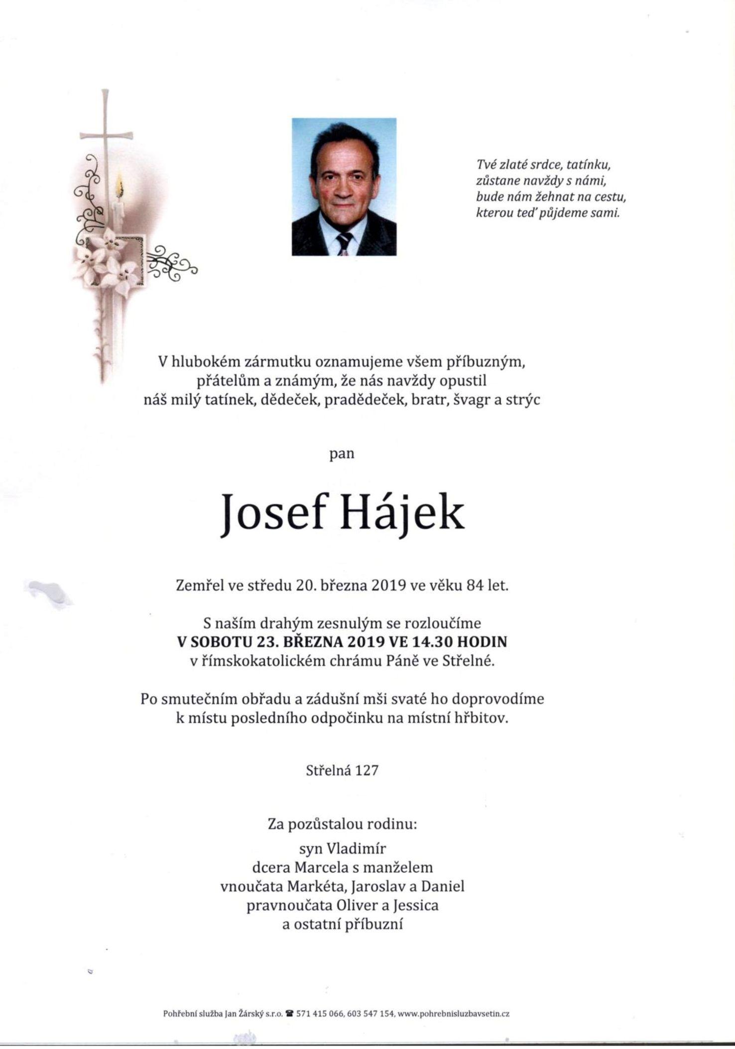 Josef Hájek