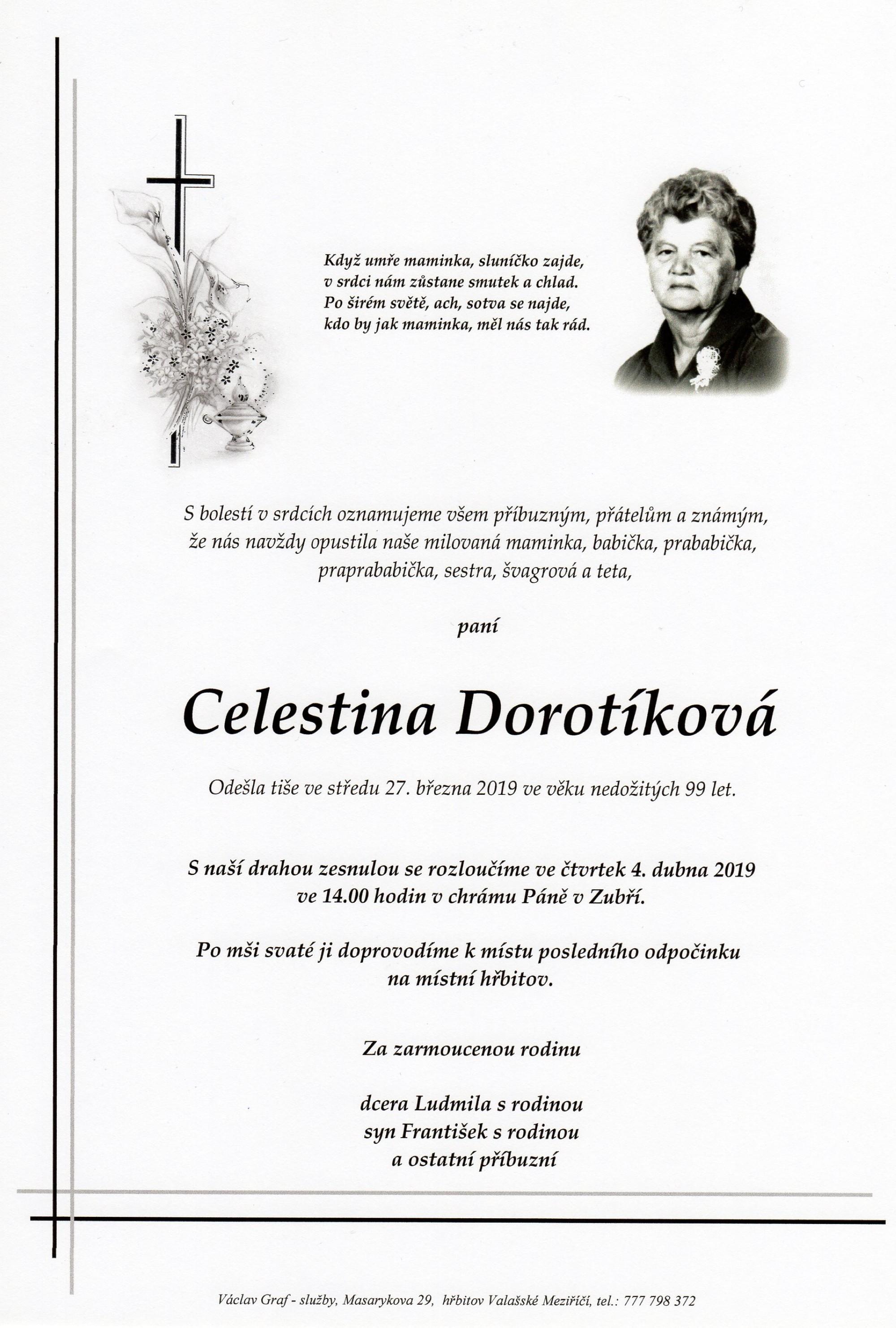 Celestina Dorotíková