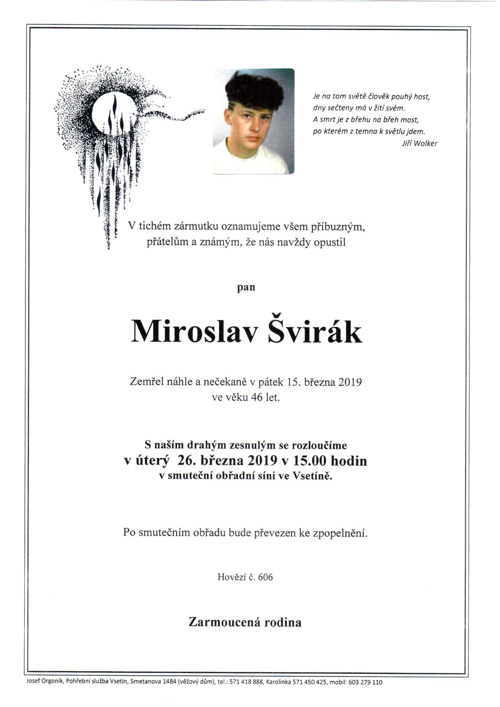 Miroslav Švirák