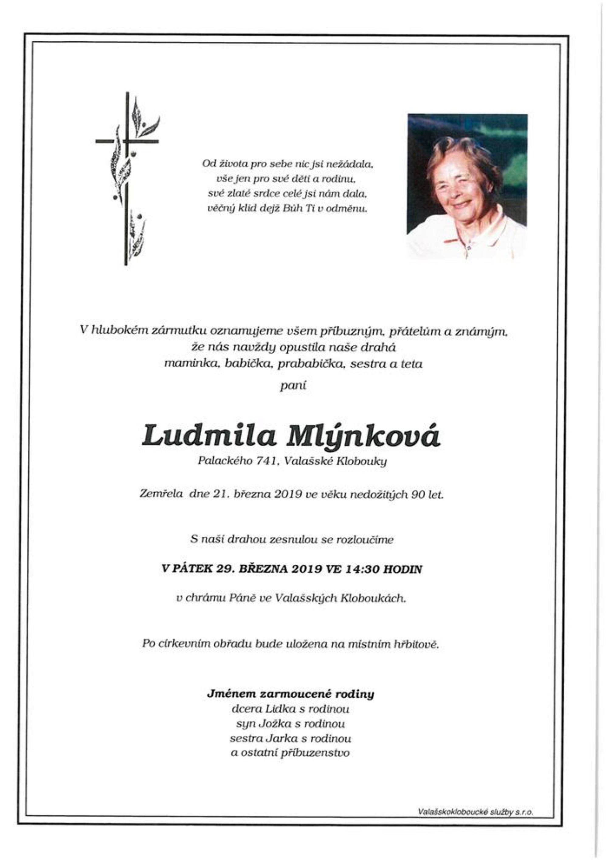 Ludmila Mlýnková
