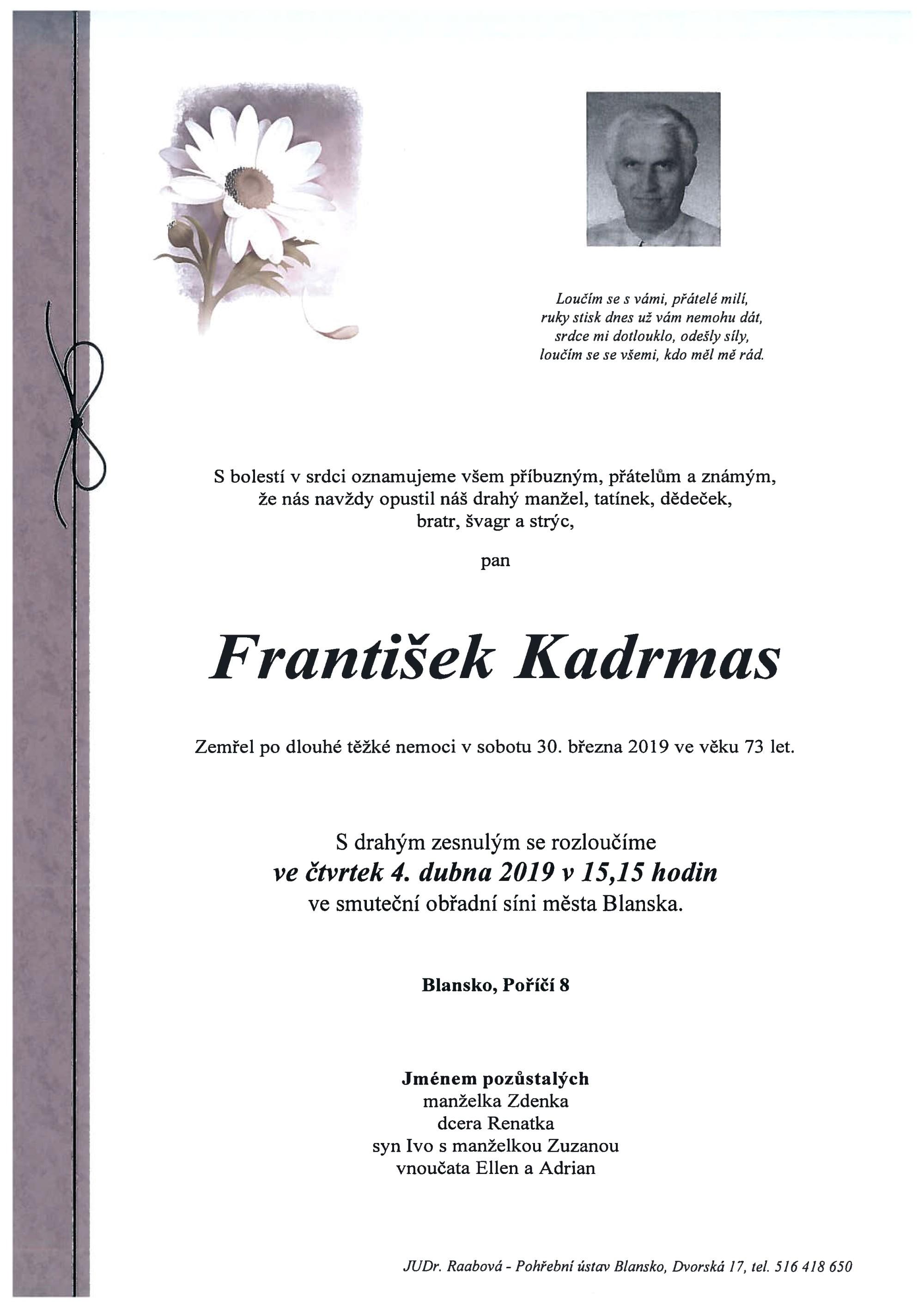 František Kadrmas