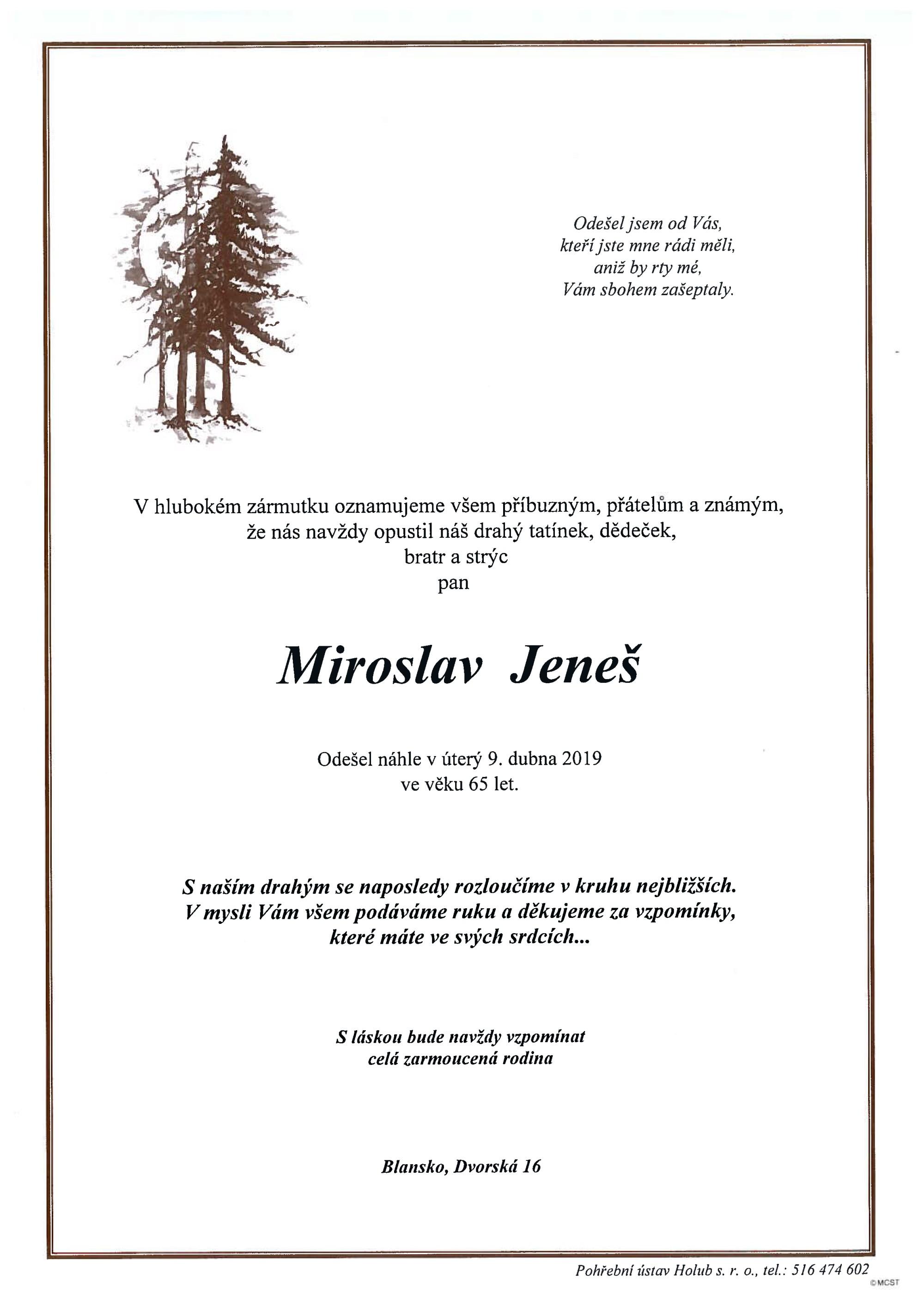 Miroslav Jeneš