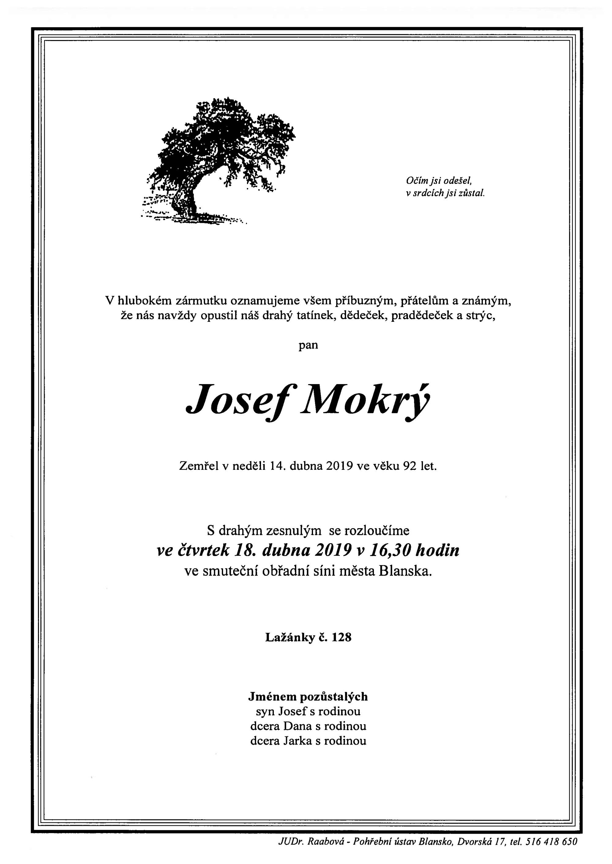 Josef Mokrý