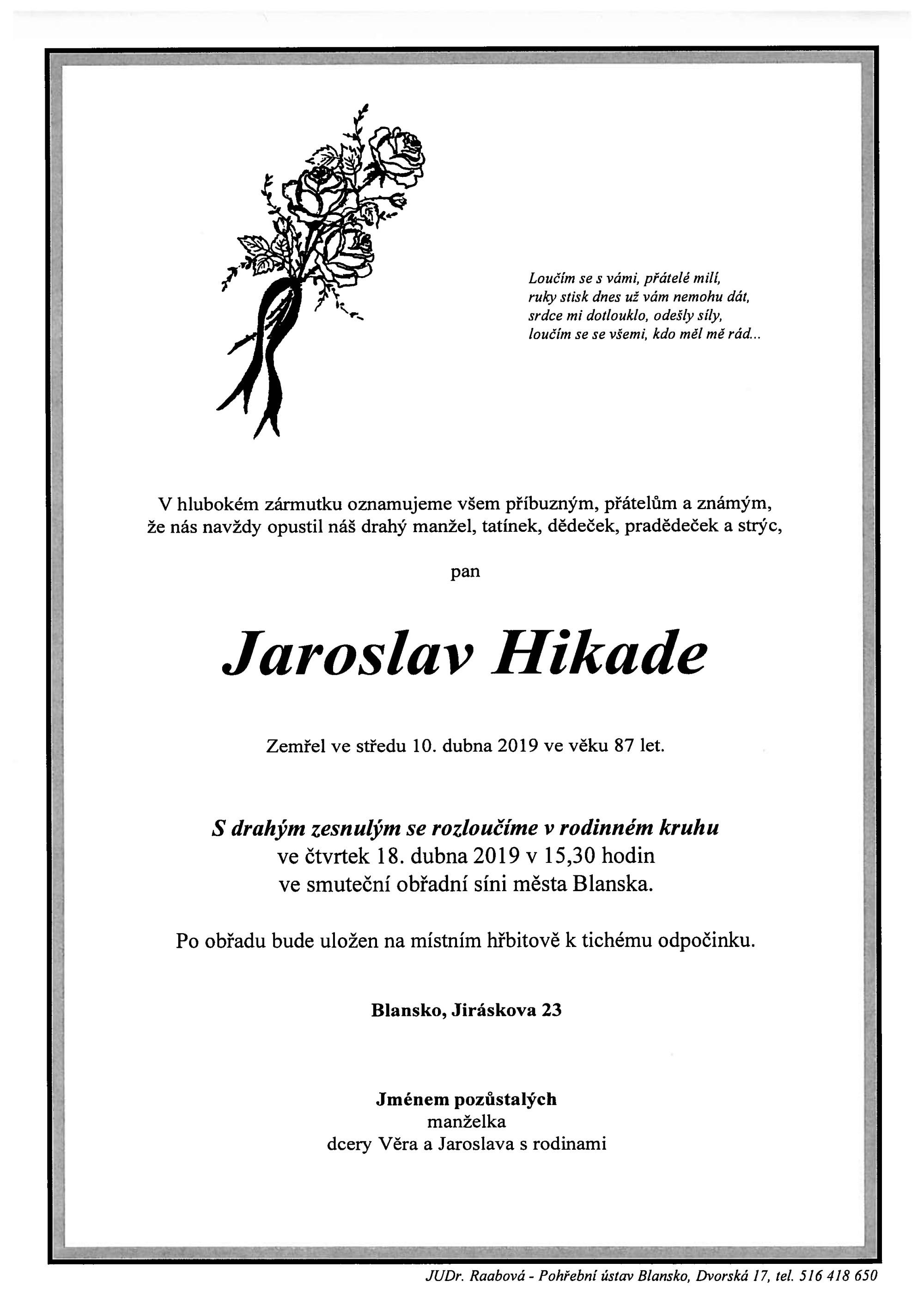 Jaroslav Hikade