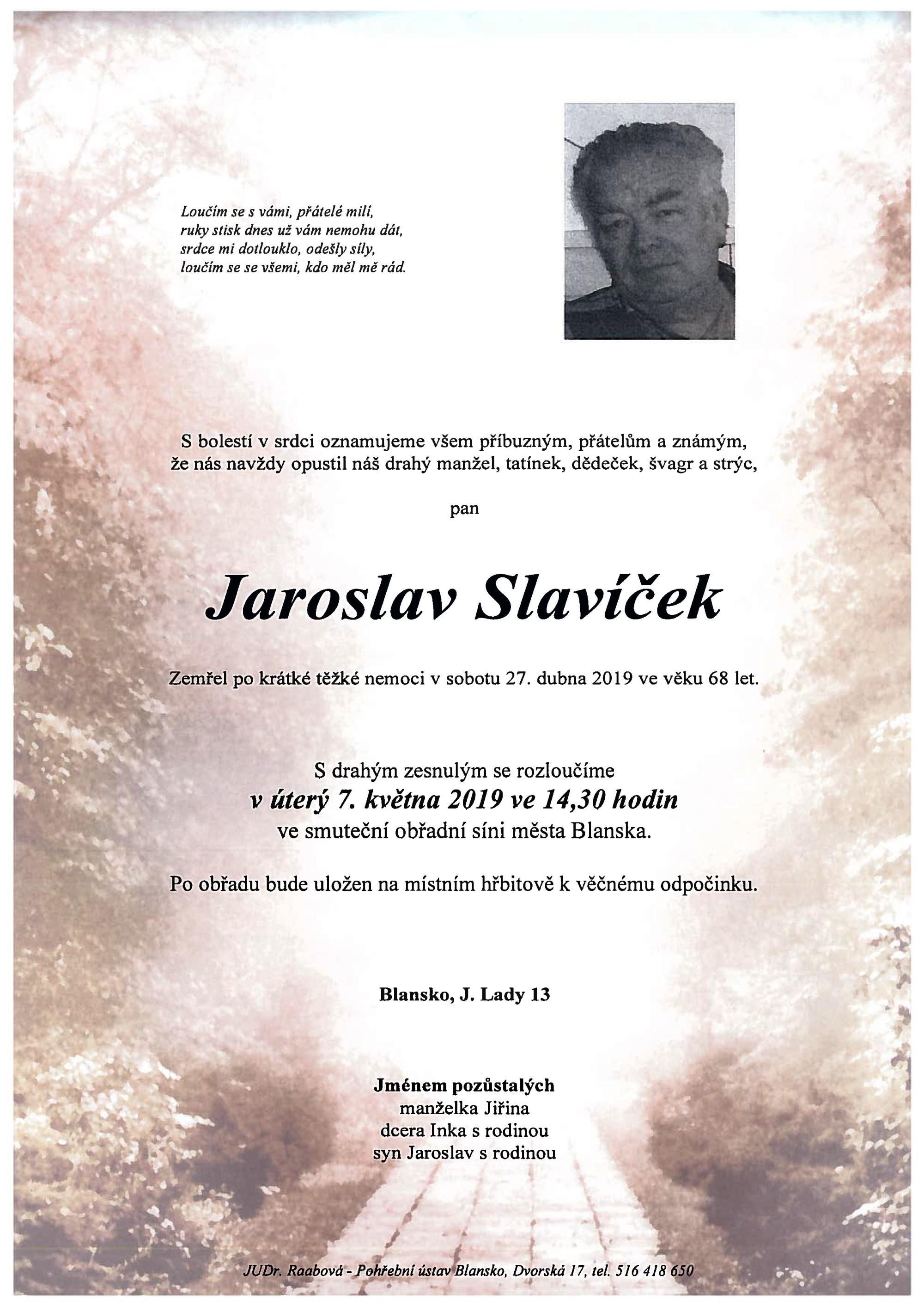 Jaroslav Slavíček