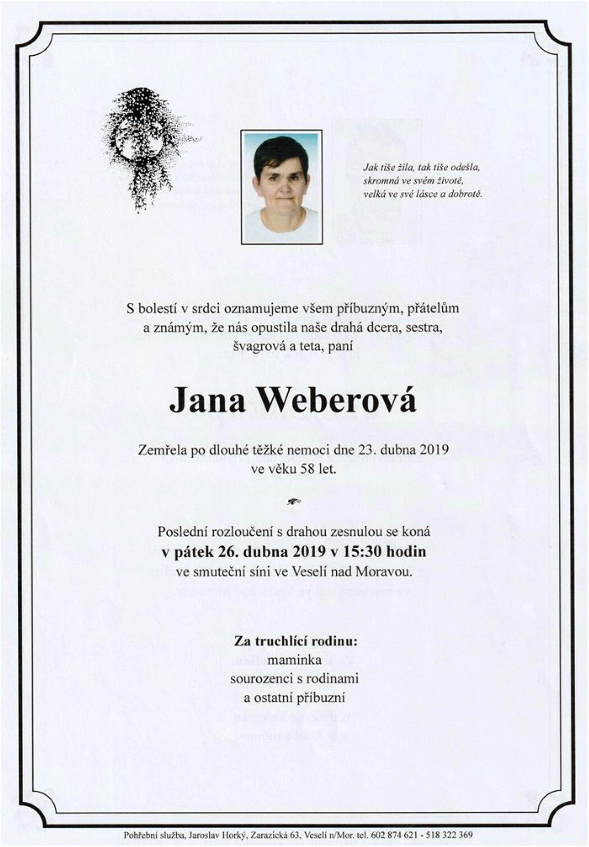 Jana Weberová
