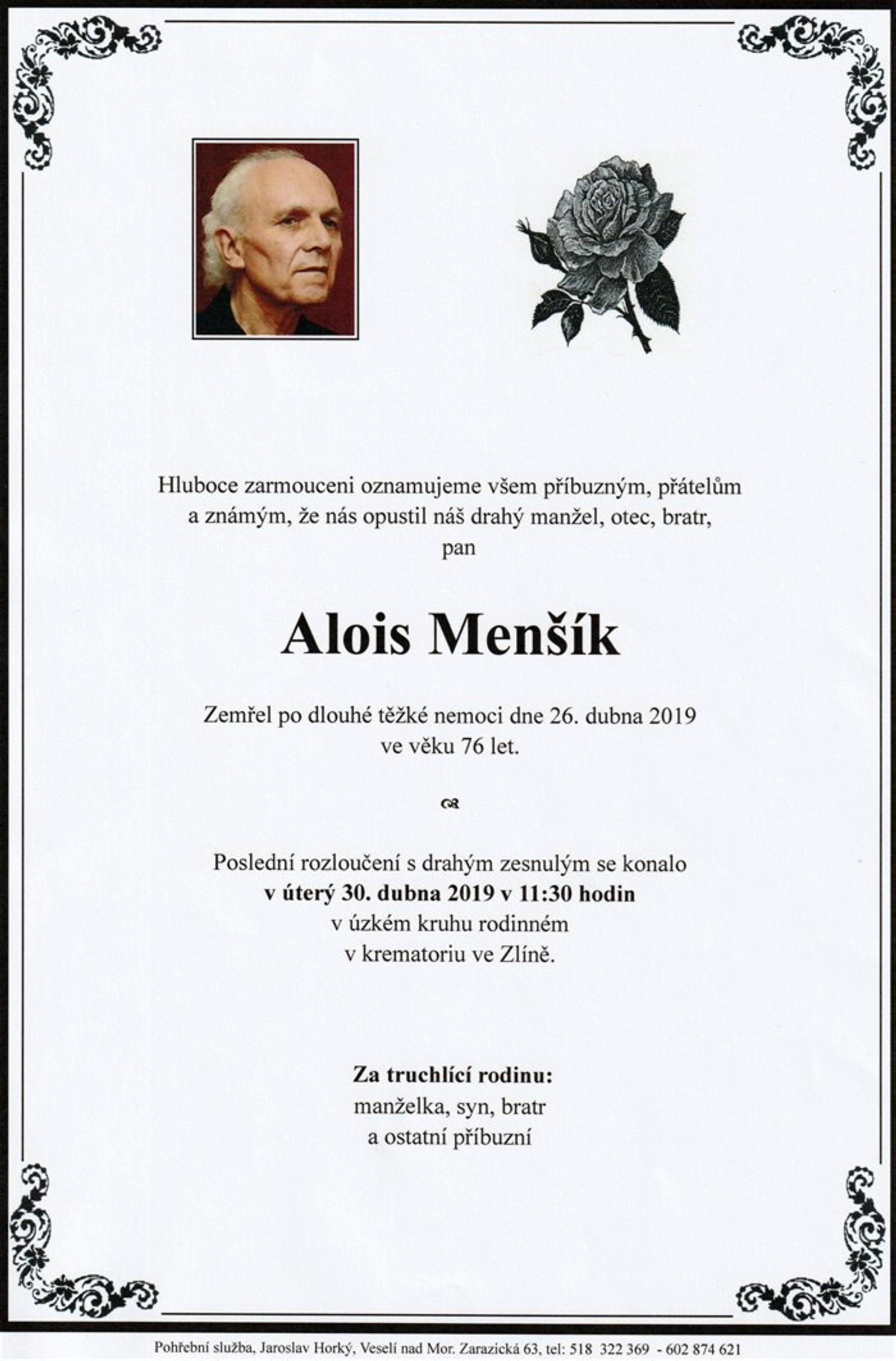 Alois Menšík