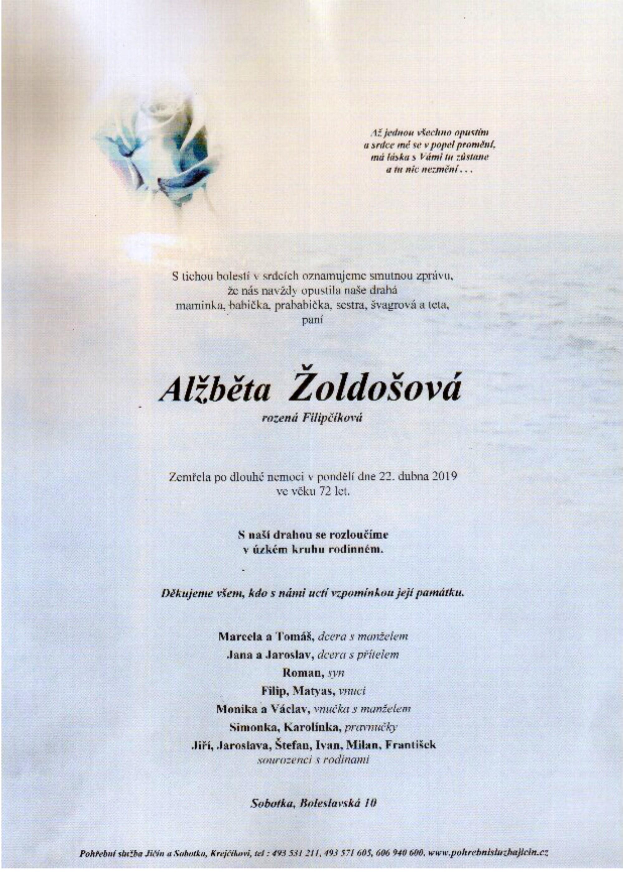 Alžběta Žoldošová