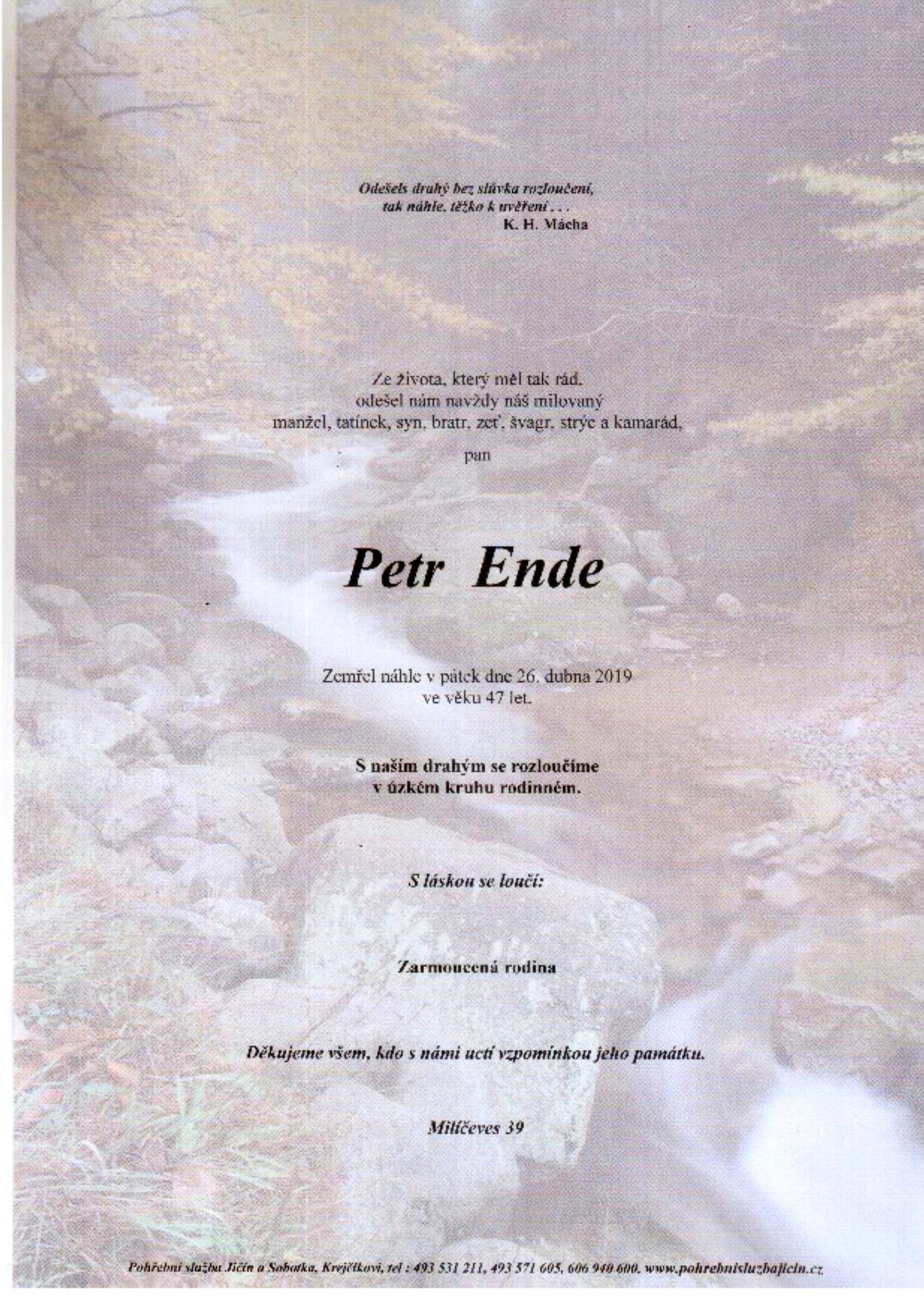 Petr Ende