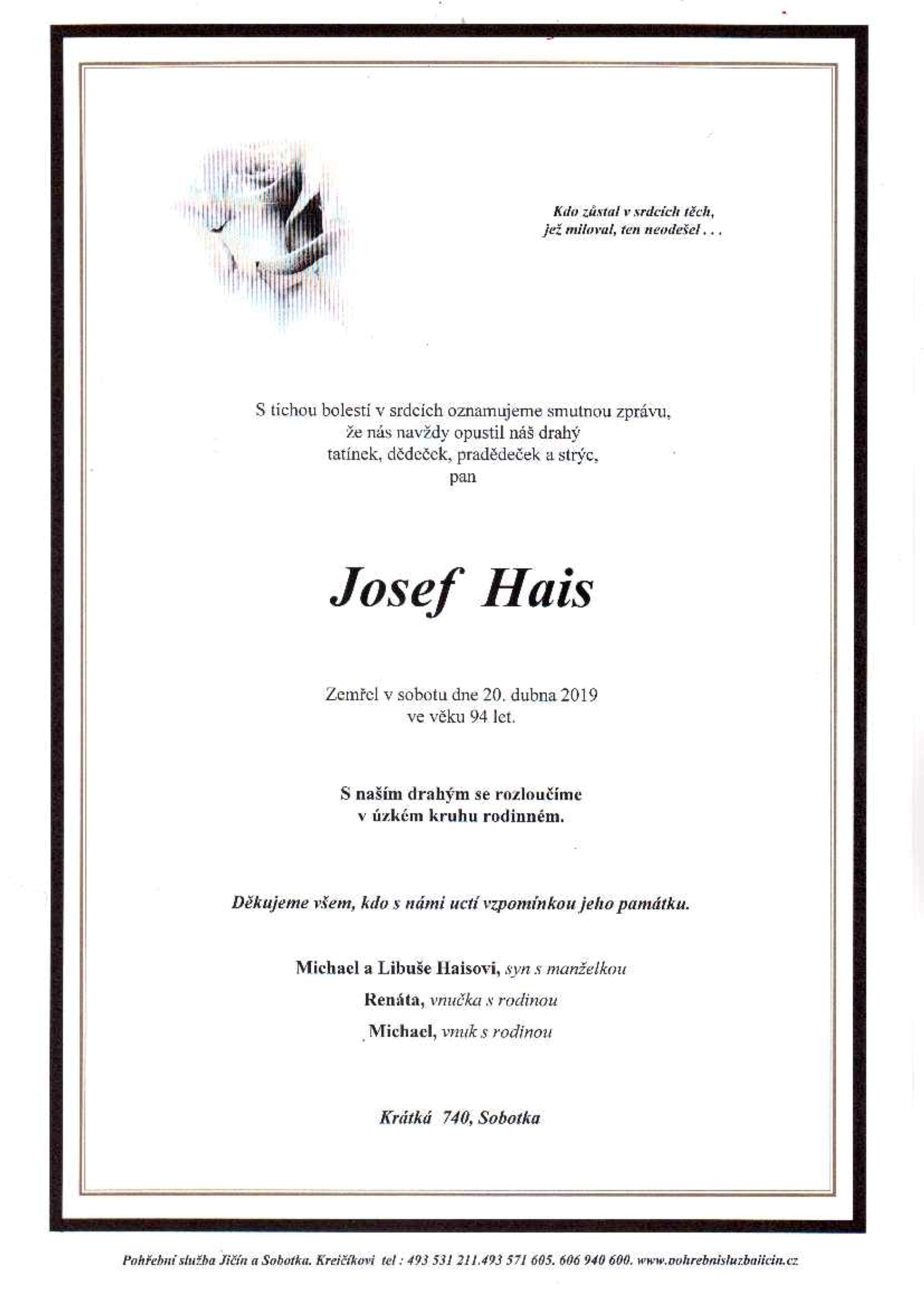 Josef Hais