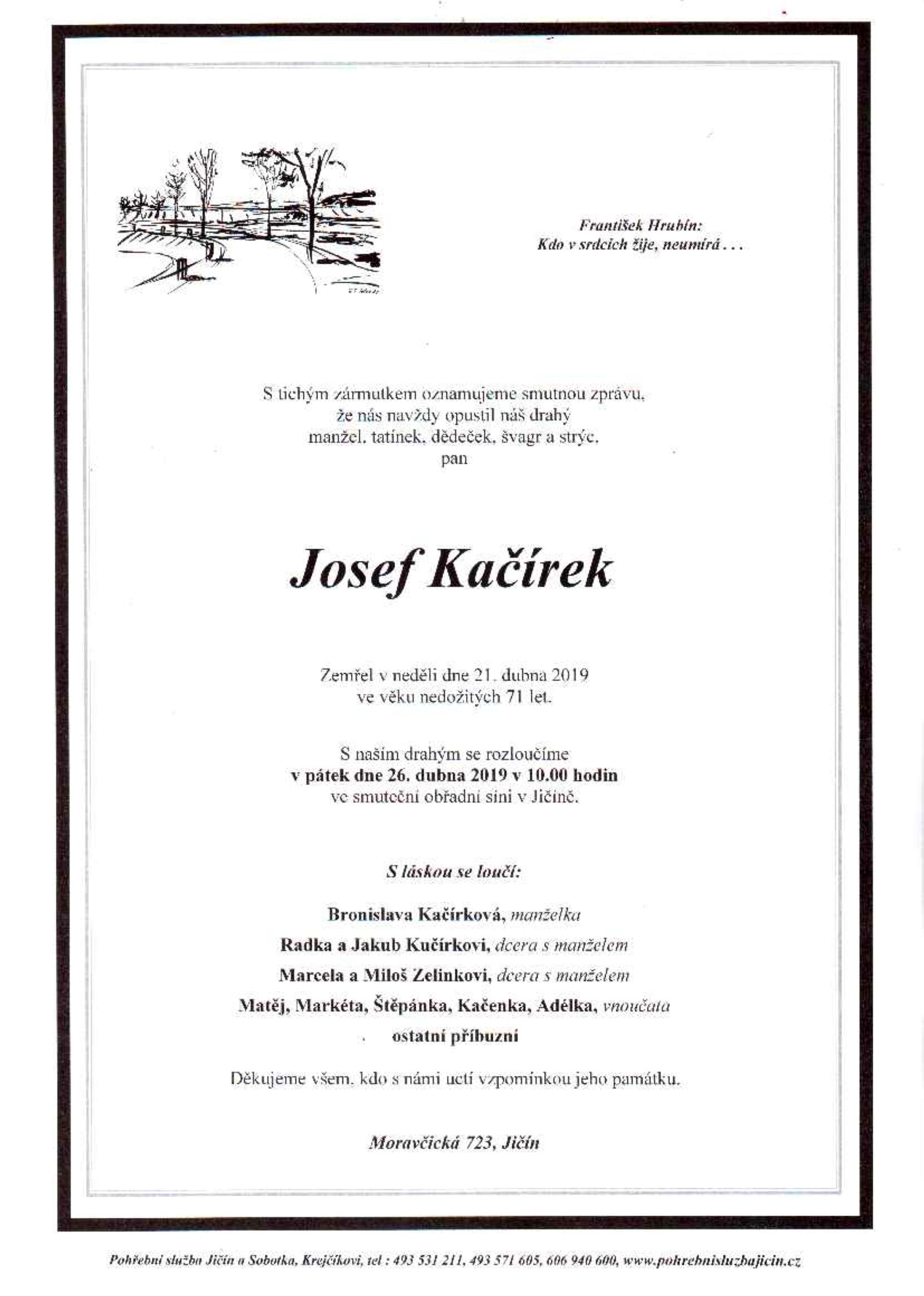 Josef Kačírek