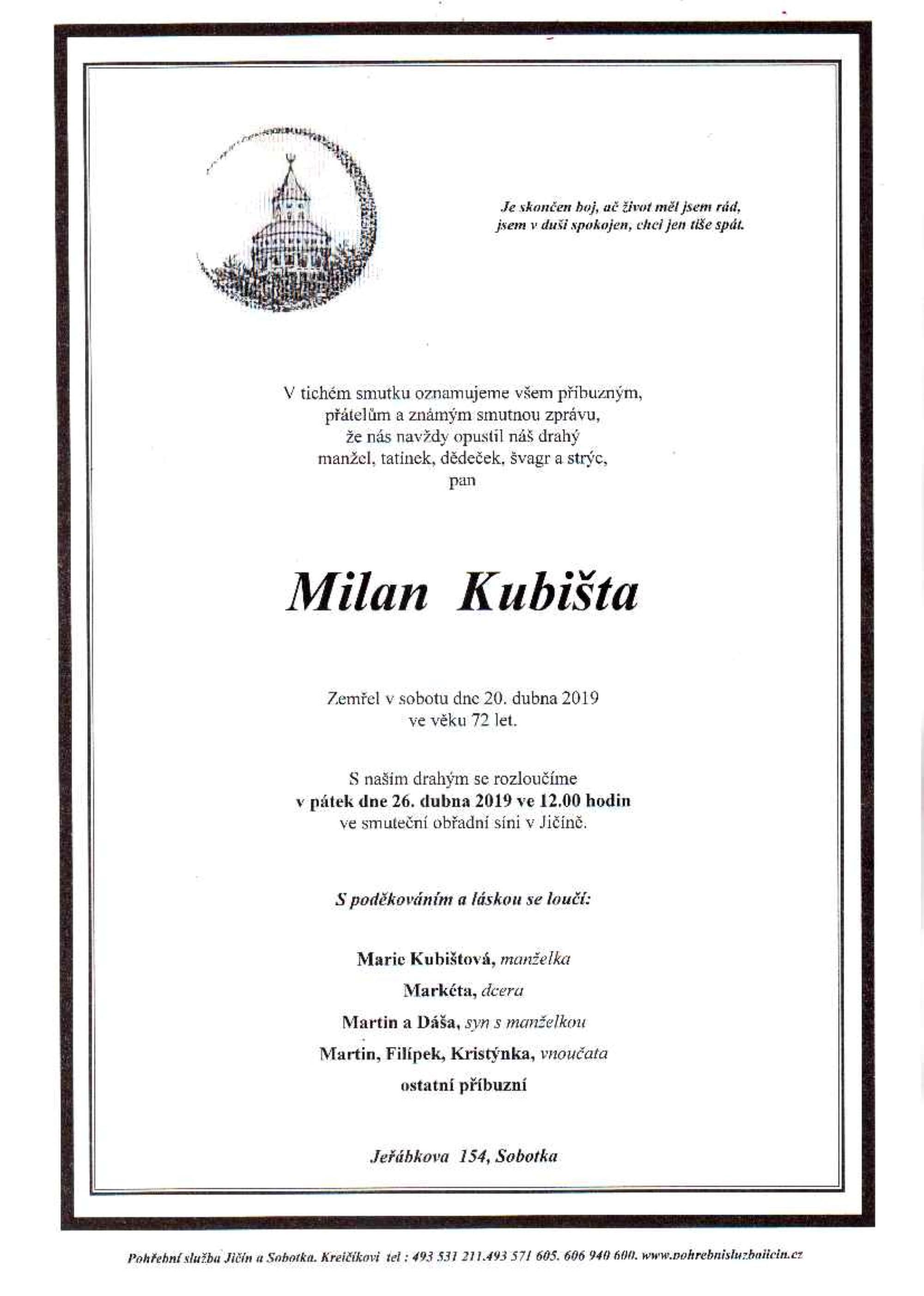 Milan Kubišta