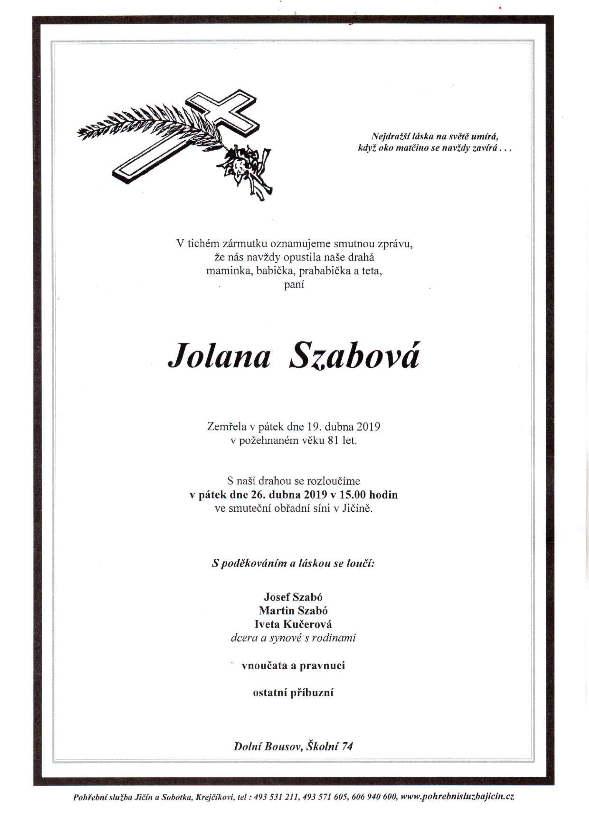 Jolana Szabová
