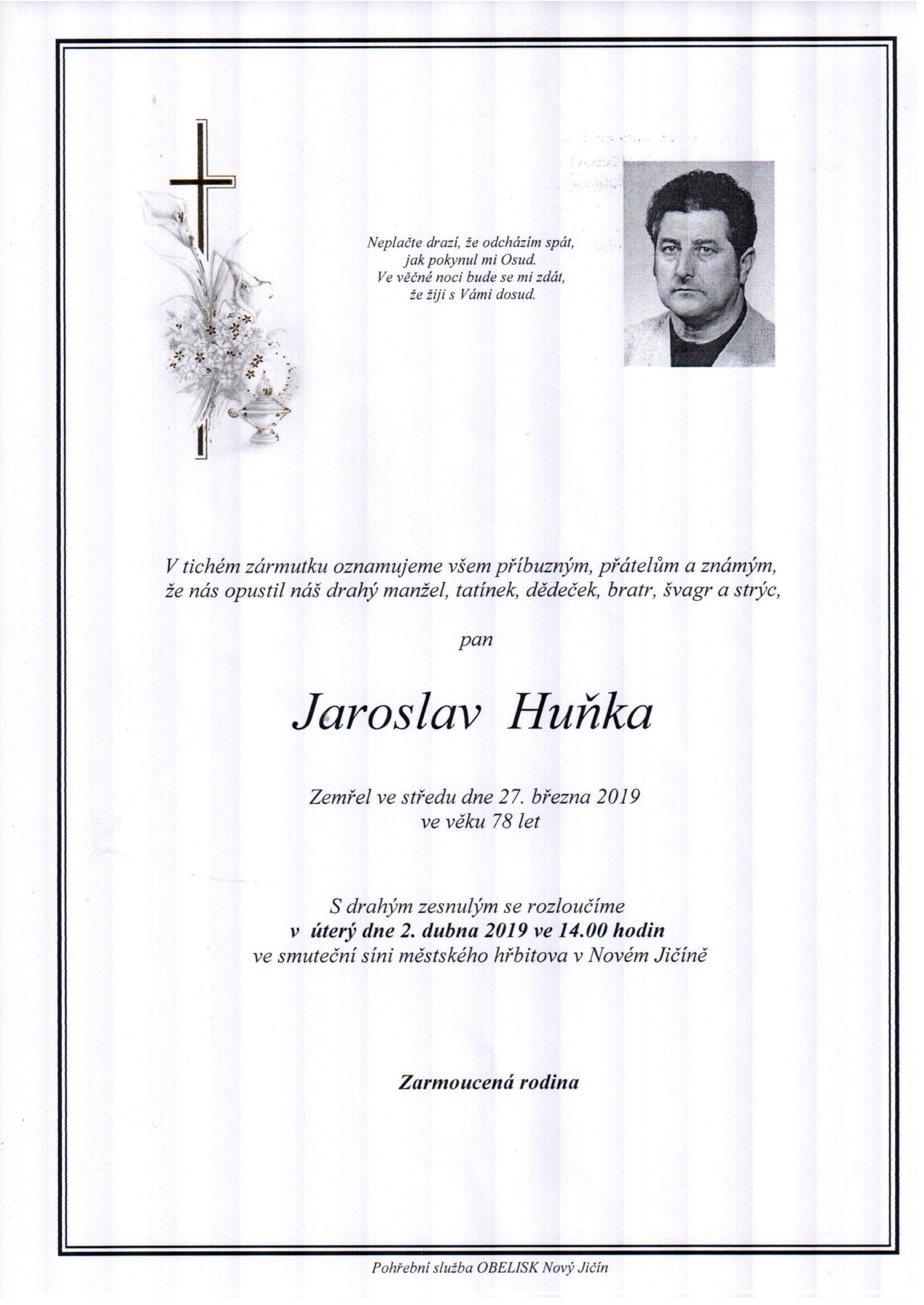 Jaroslav Huňka
