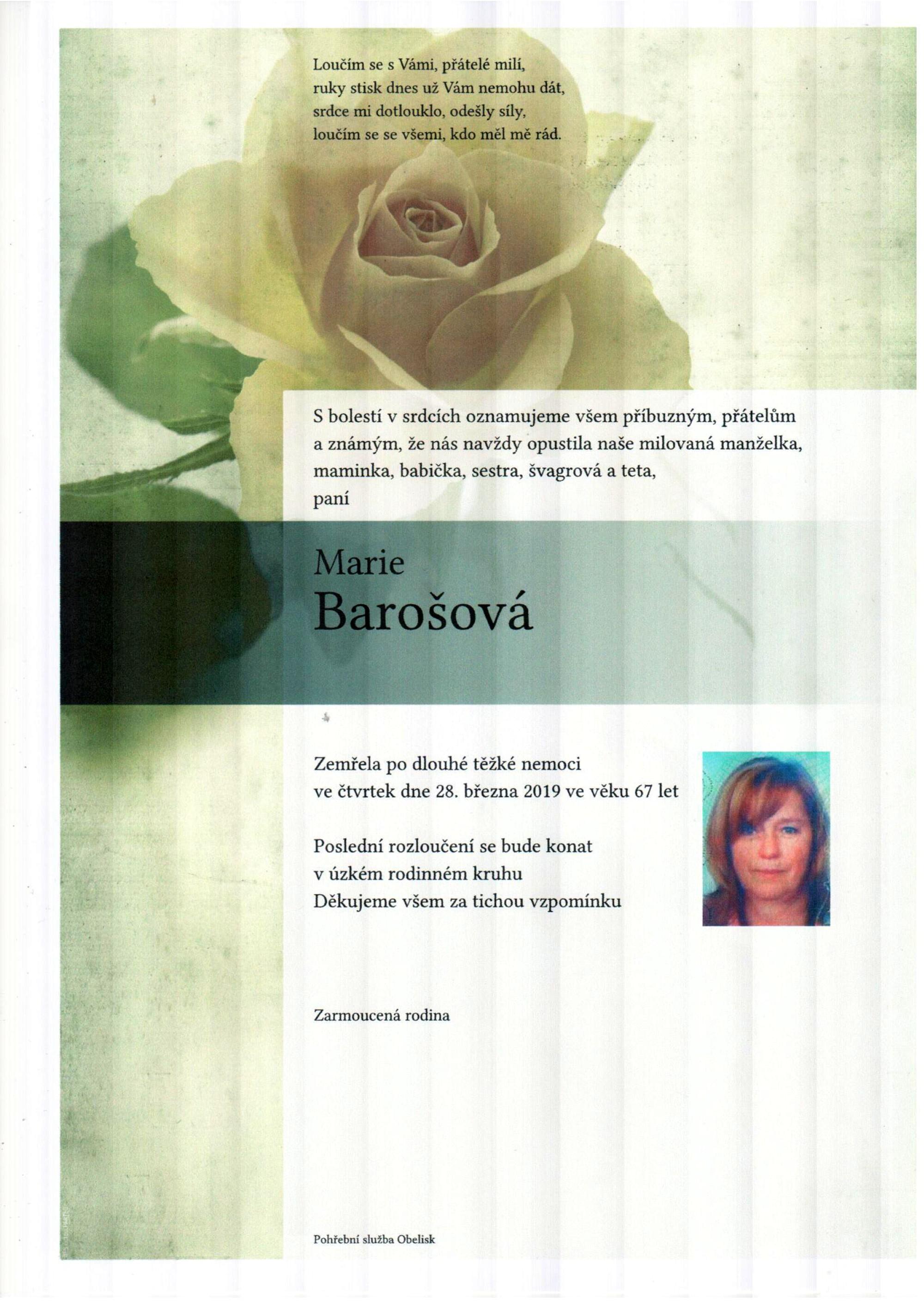 Marie Barošová
