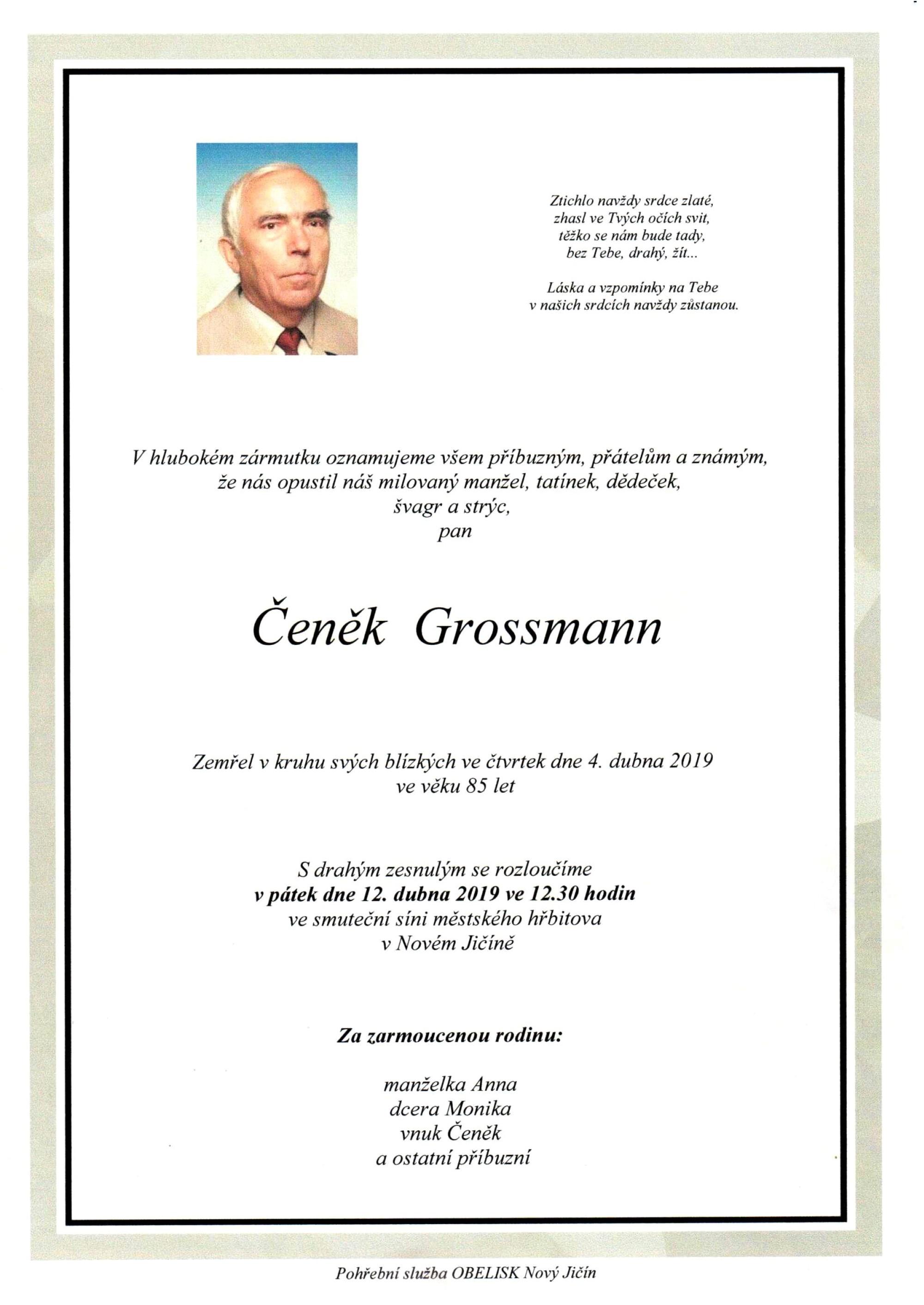 Čeněk Grossmann
