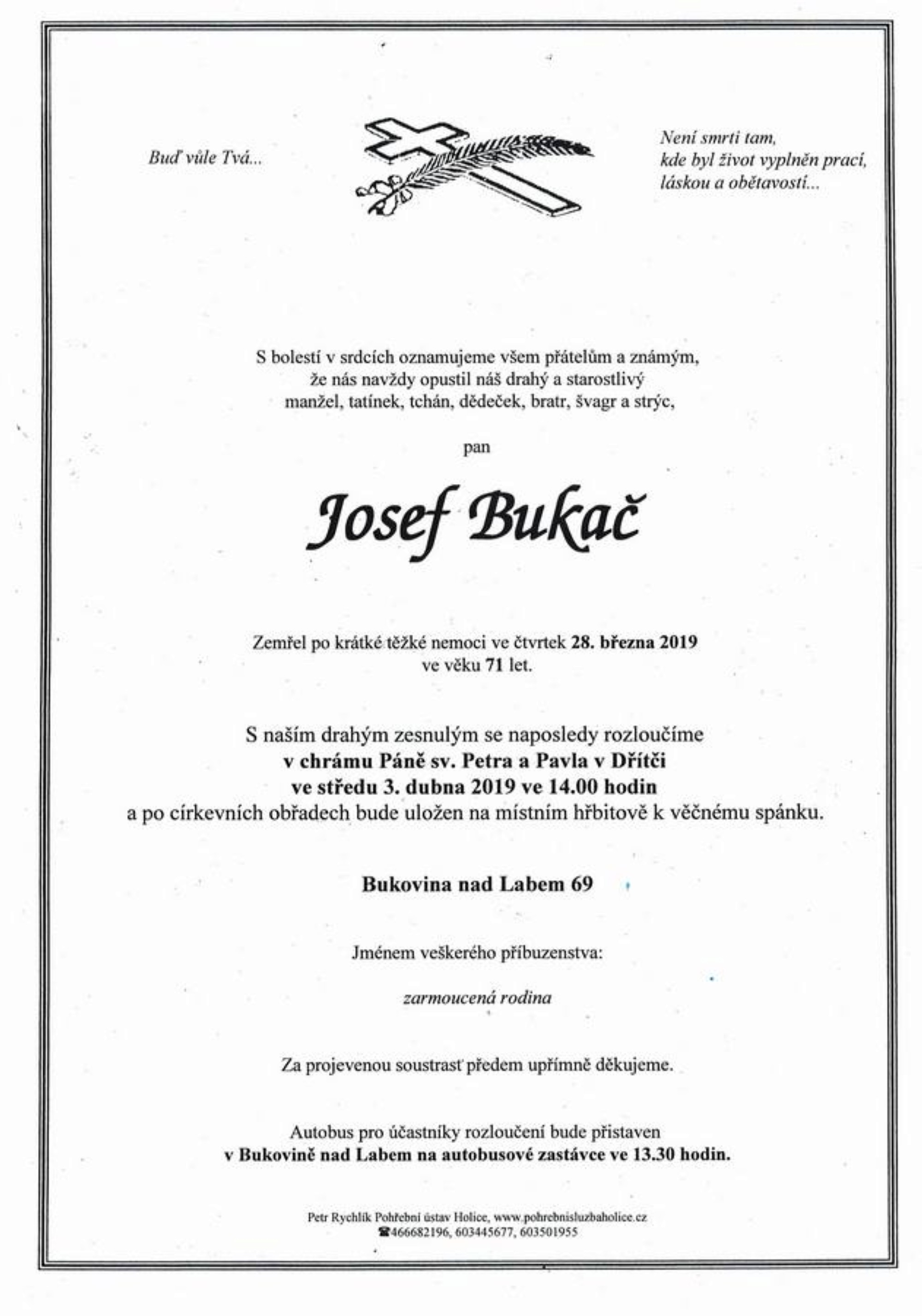 Josef Bukač