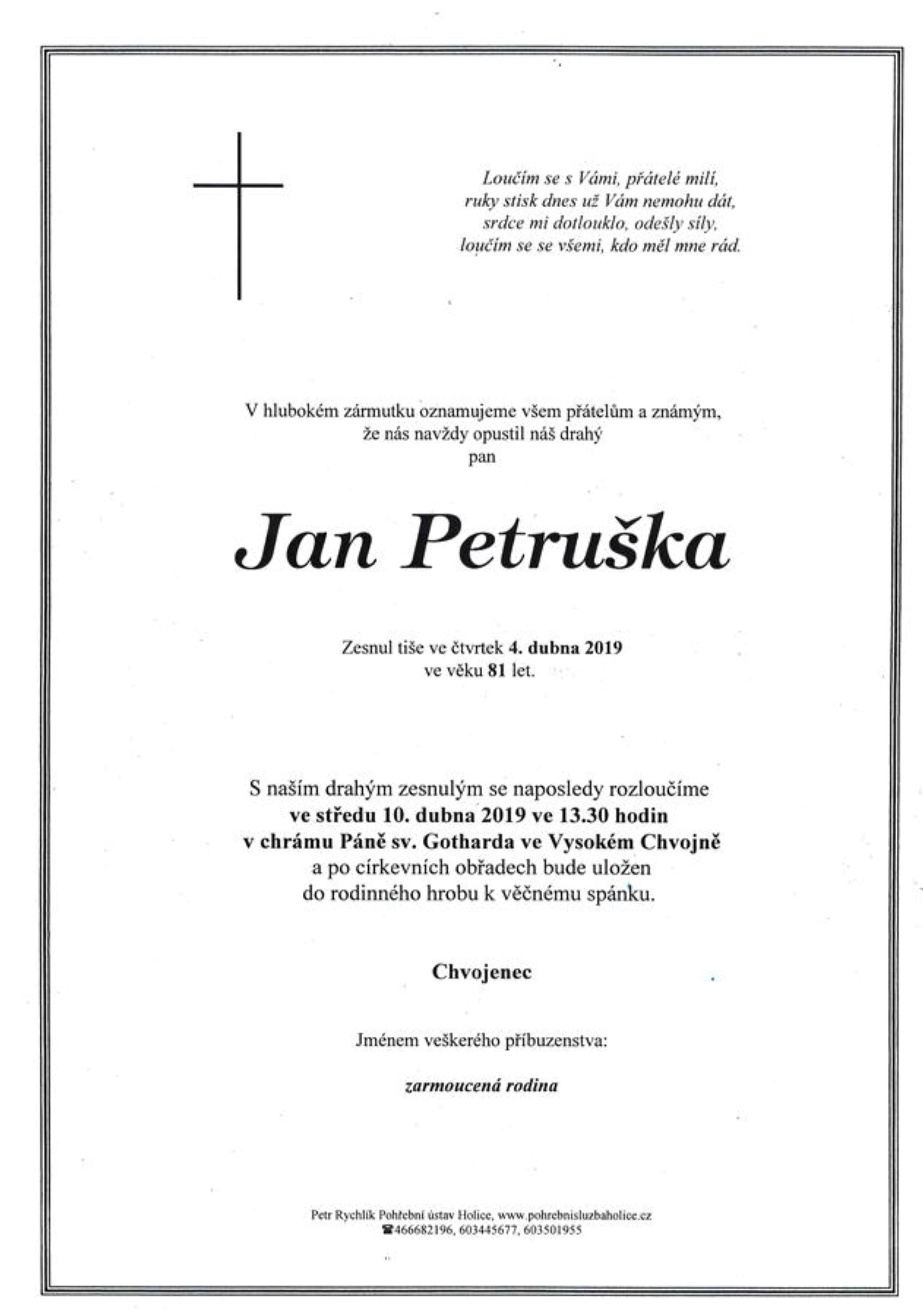 Jan Petruška