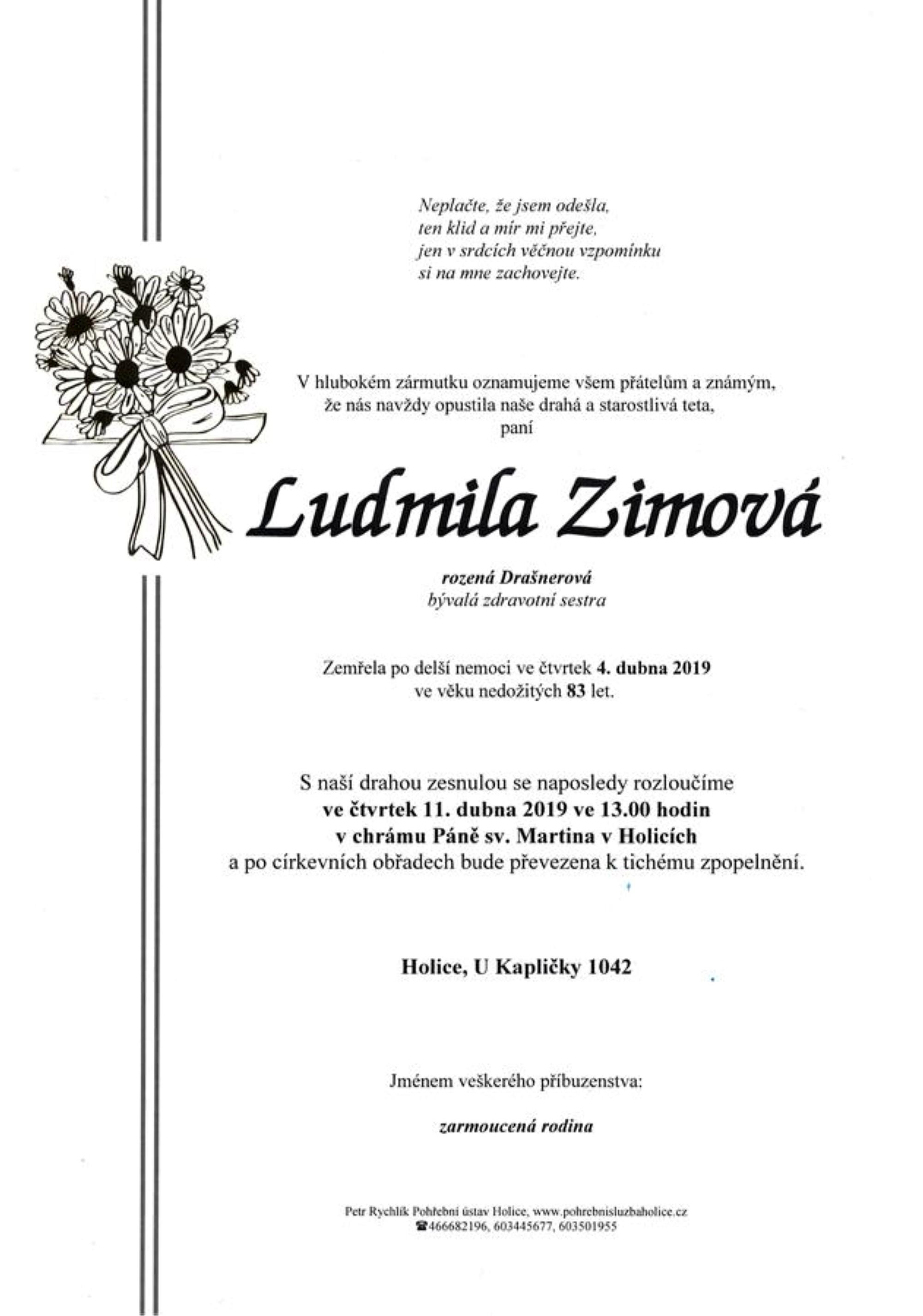 Ludmila Zimová