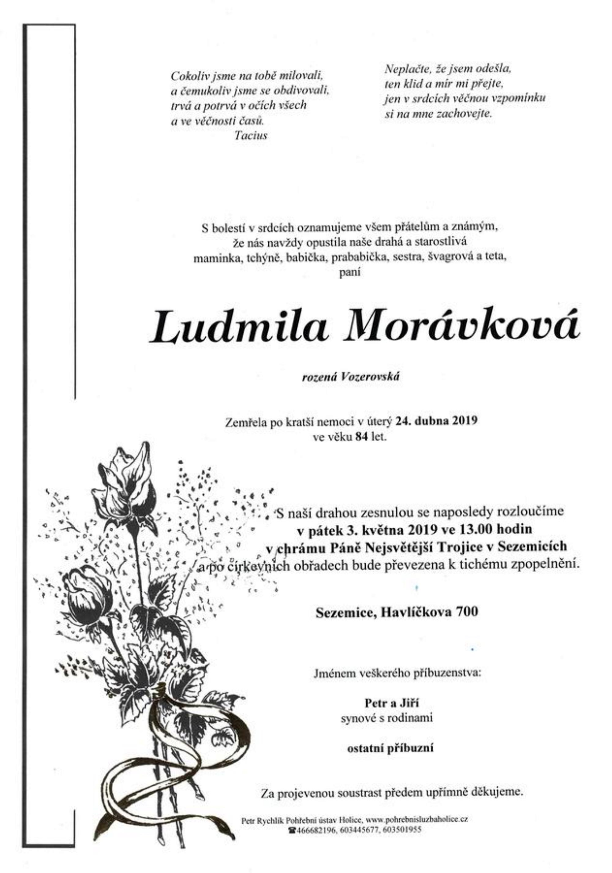 Ludmila Morávková