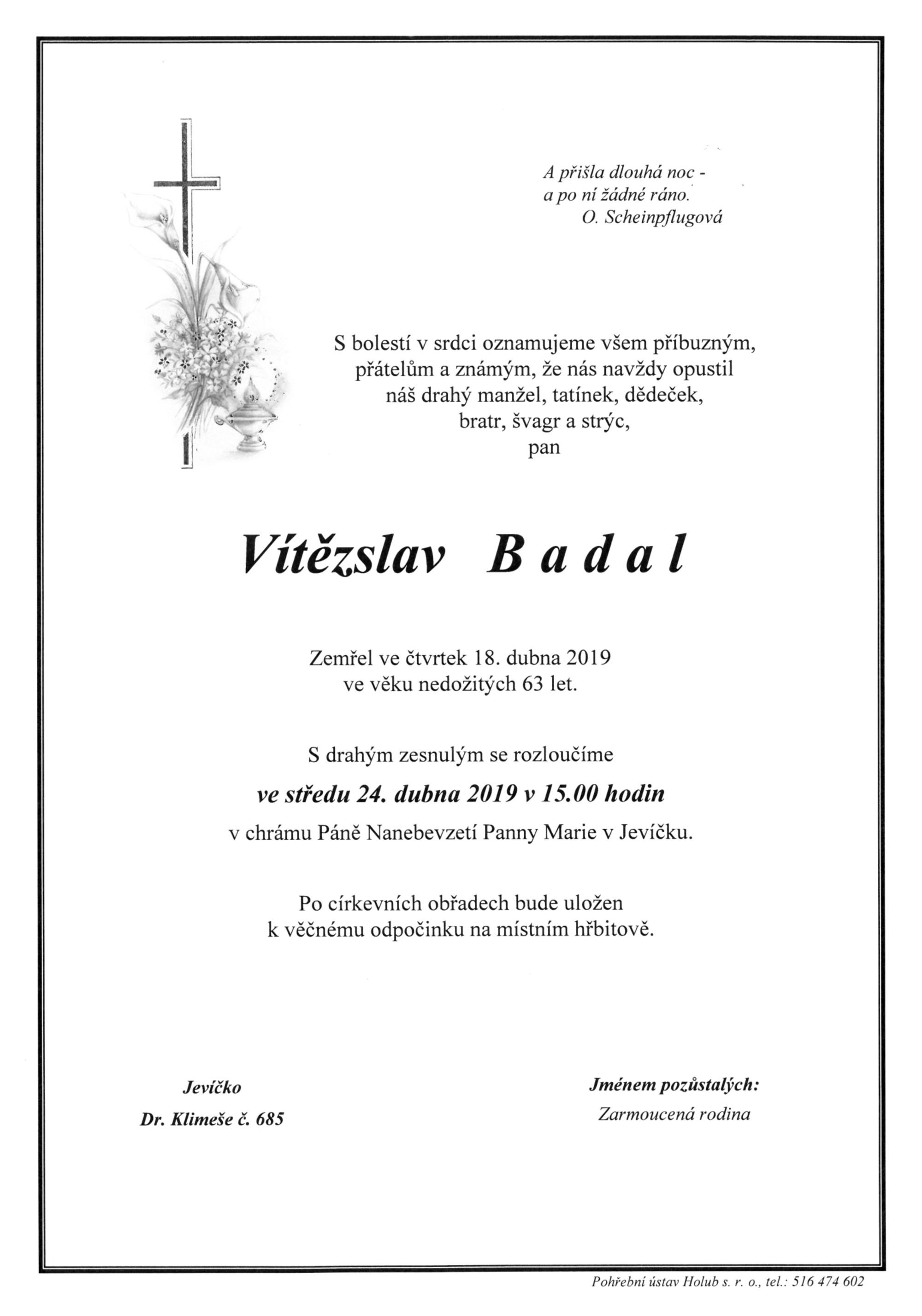 Vítězslav Badal