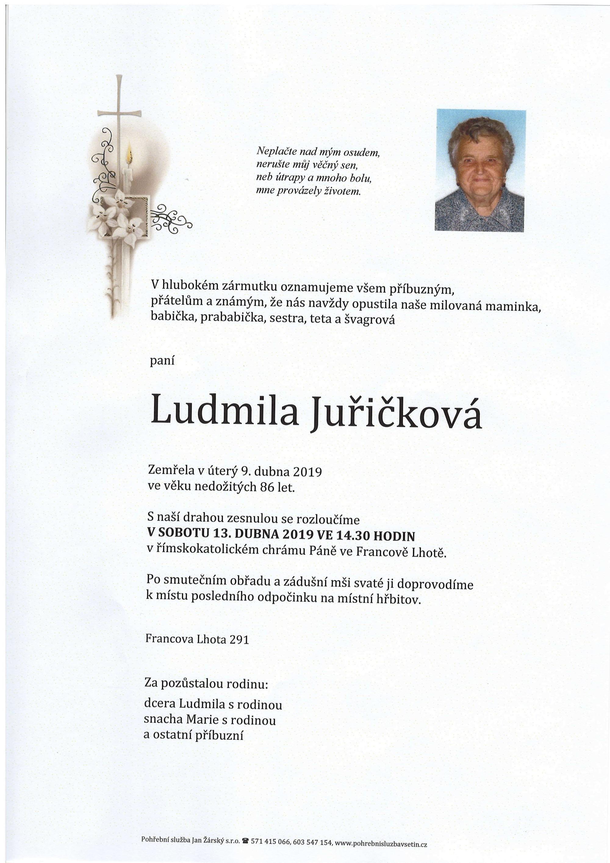 Ludmila Juřičková