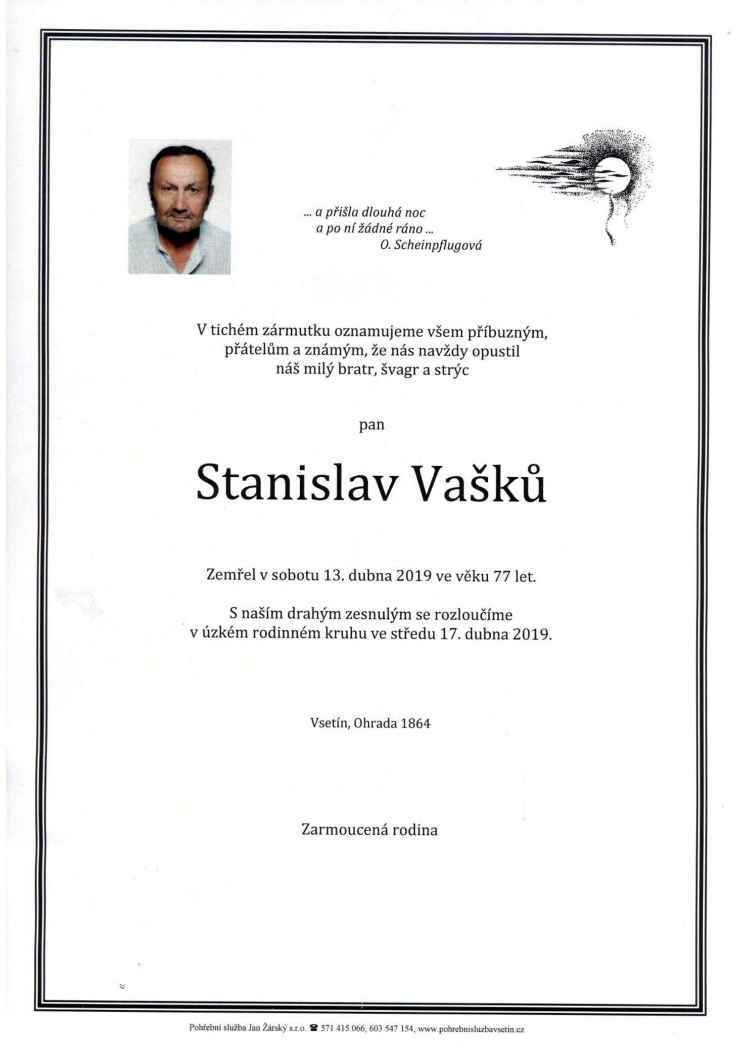 Stanislav Vašků