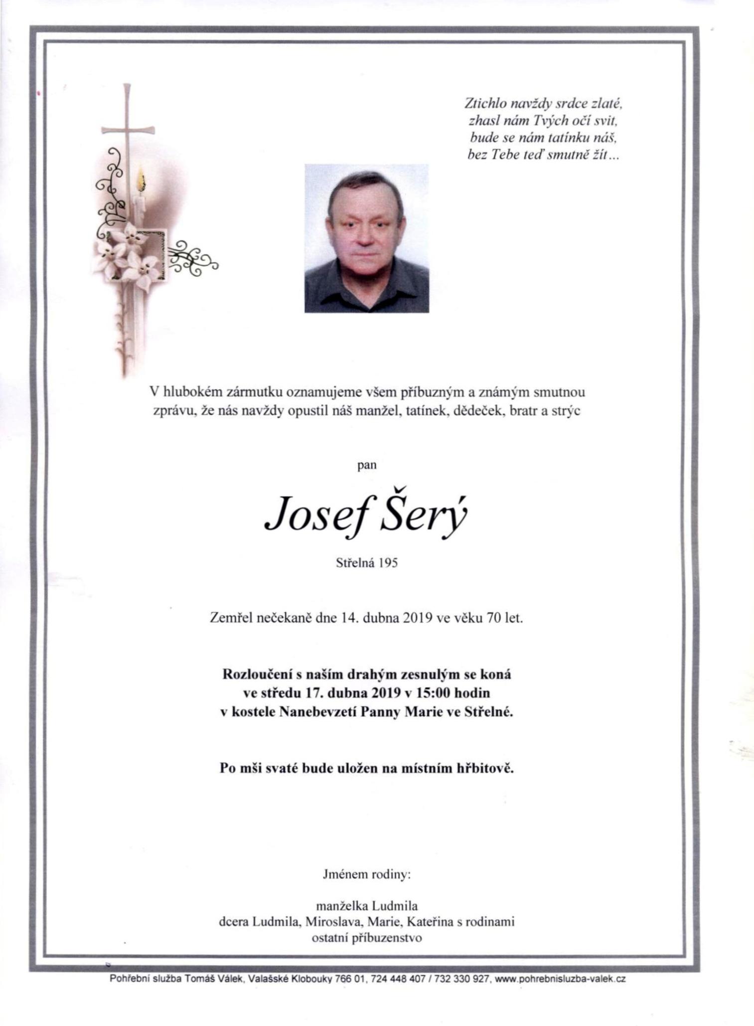 Josef Šerý