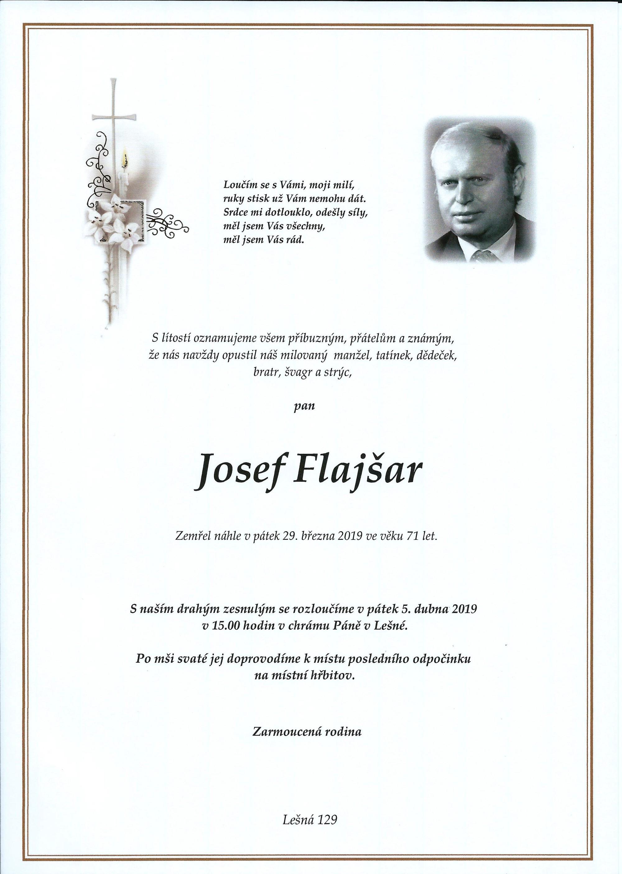Josef Flajšar