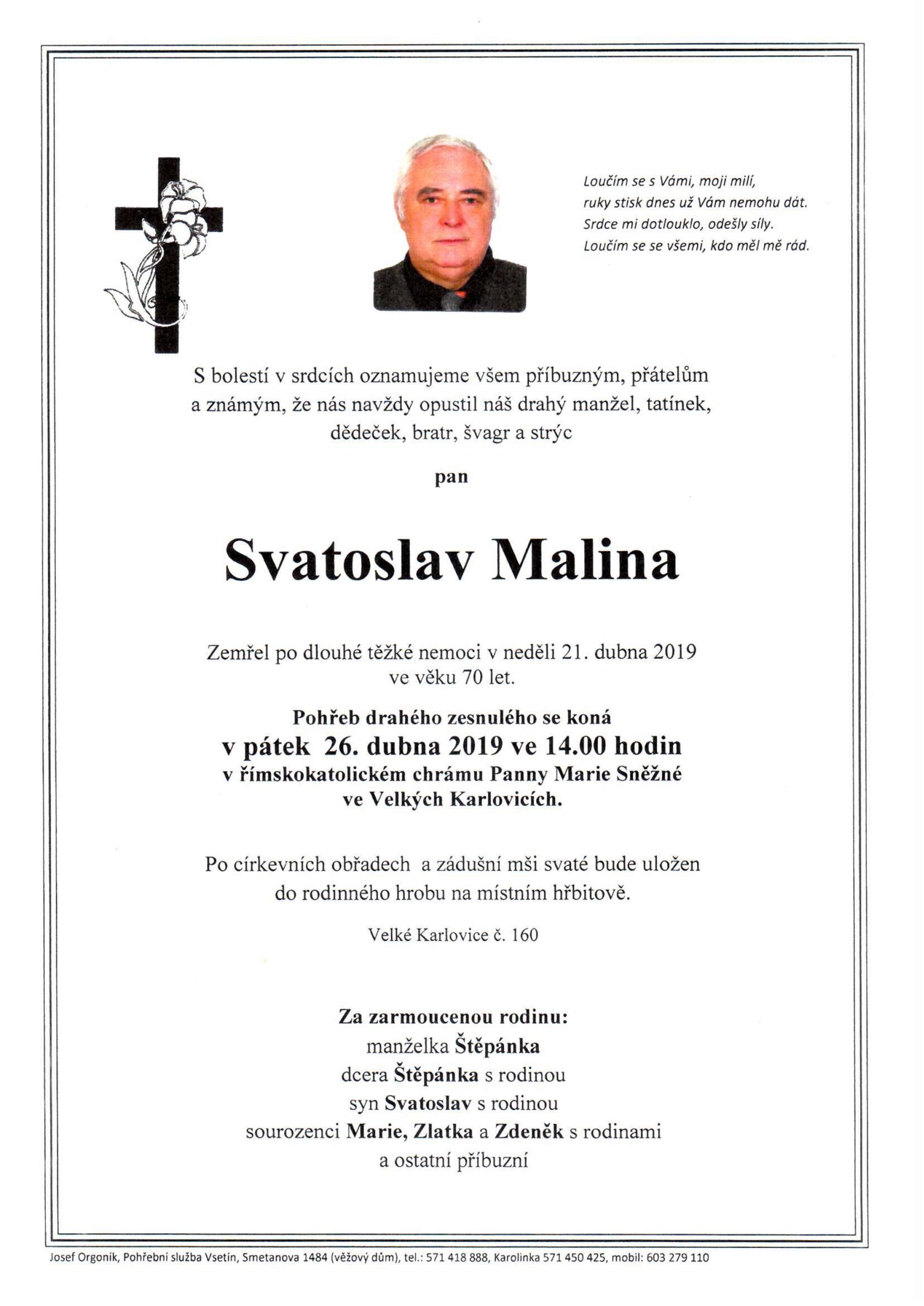 Svatoslav Malina