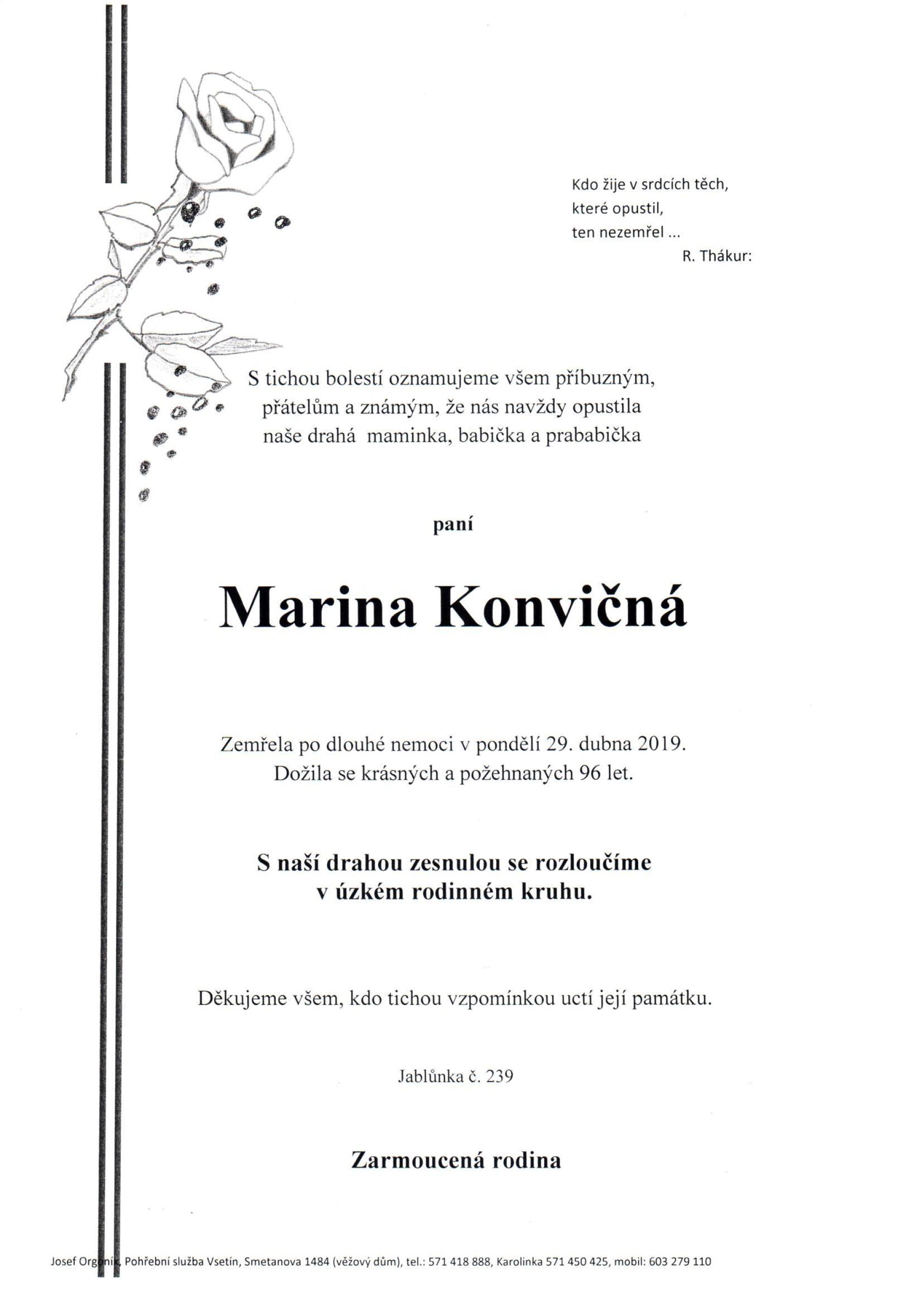 Marina Konvičná