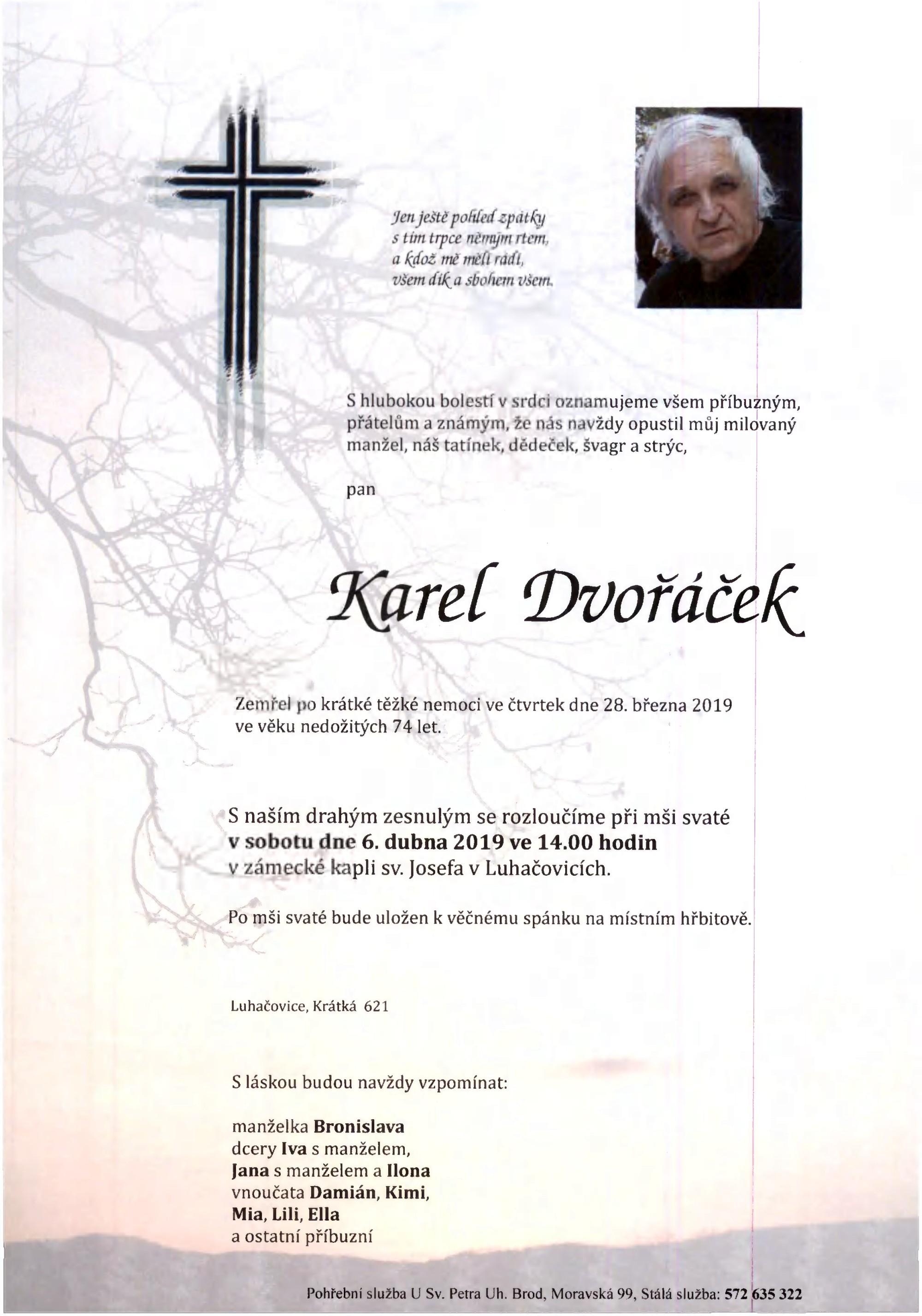 Karel Dvořáček