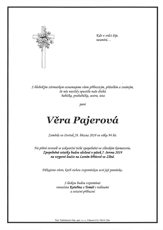 Věra Pajerová