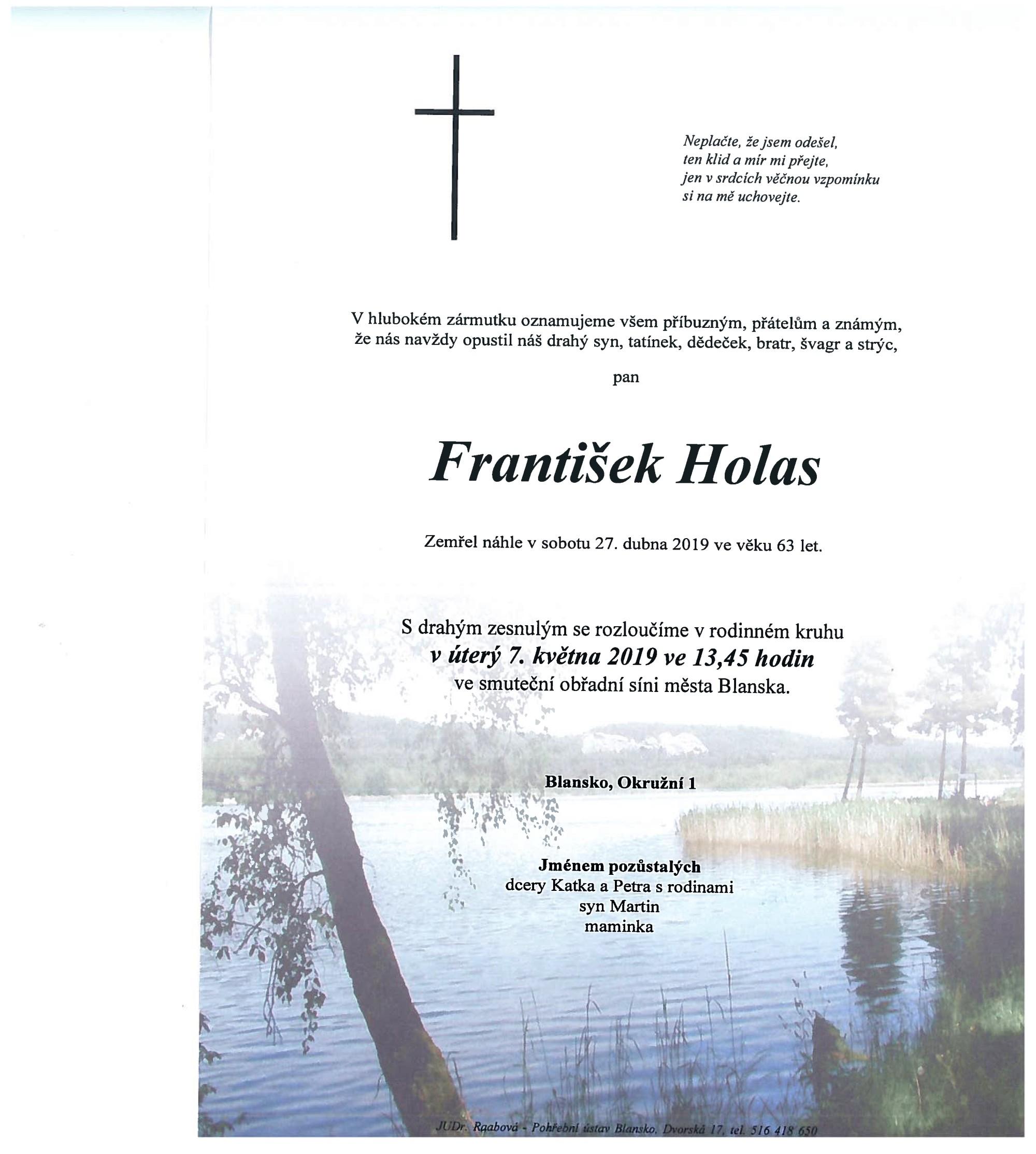 František Holas